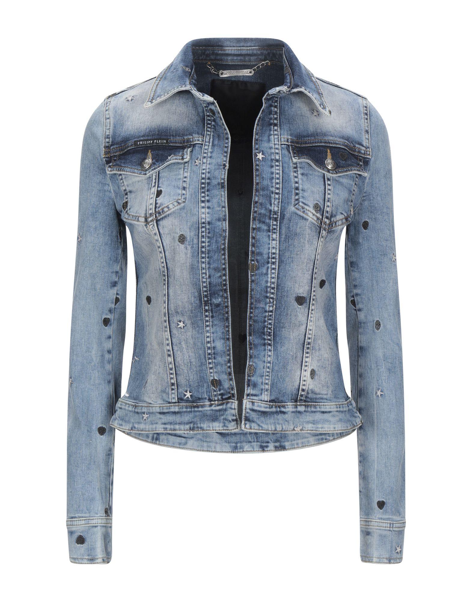 PHILIPP PLEIN Джинсовая верхняя одежда plein sud джинсовая верхняя одежда