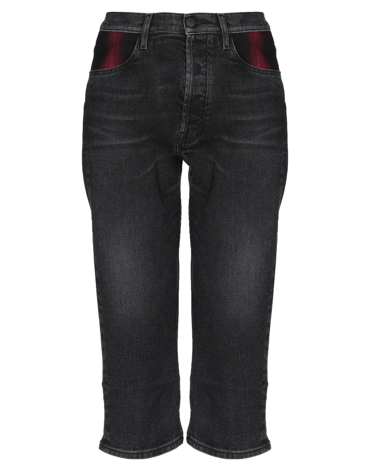 MARCELO BURLON Джинсовые брюки-капри sahoco джинсовые брюки капри
