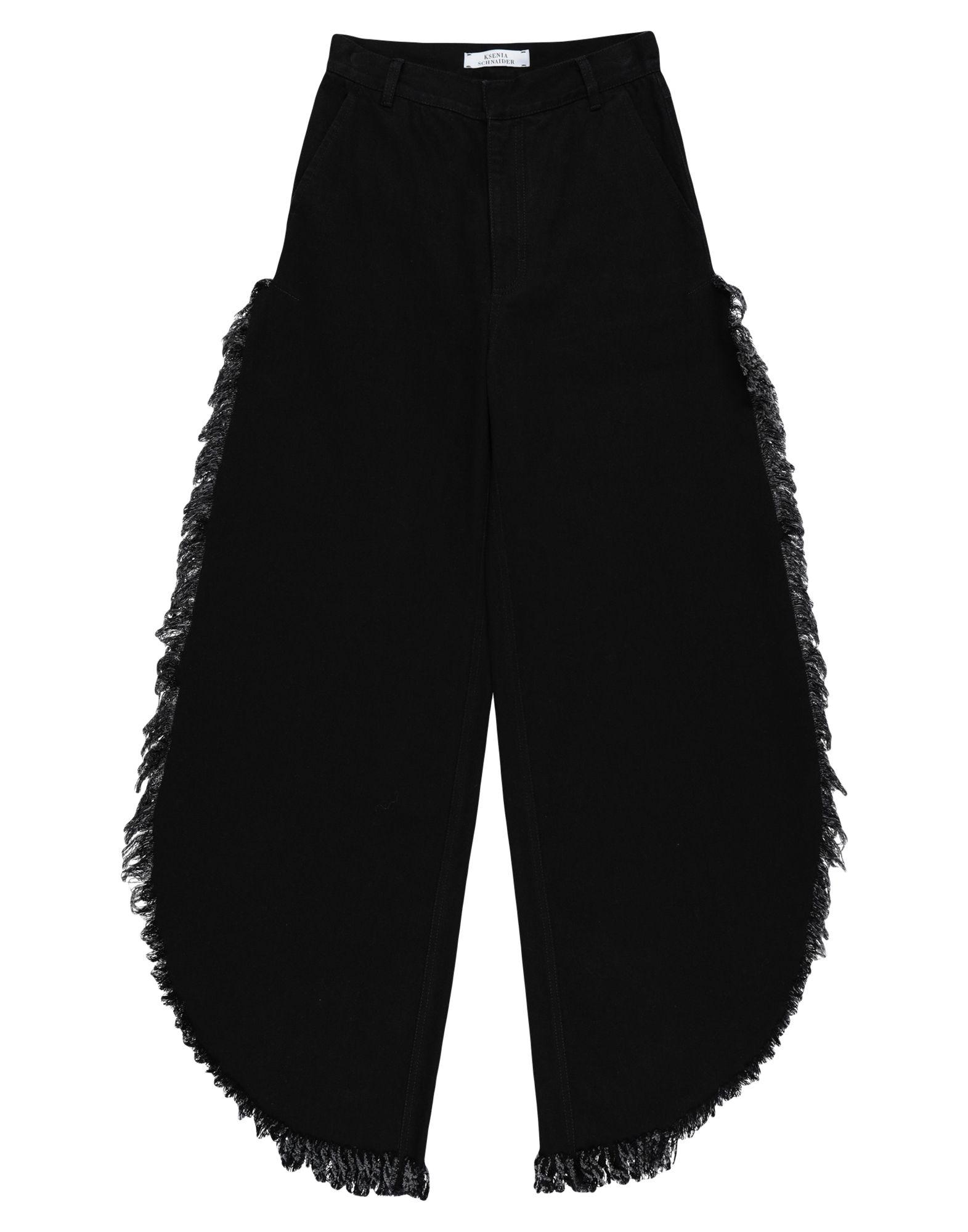 KSENIA SCHNAIDER Джинсовые брюки платье ksenia knyazeva ksenia knyazeva mp002xw1cszy