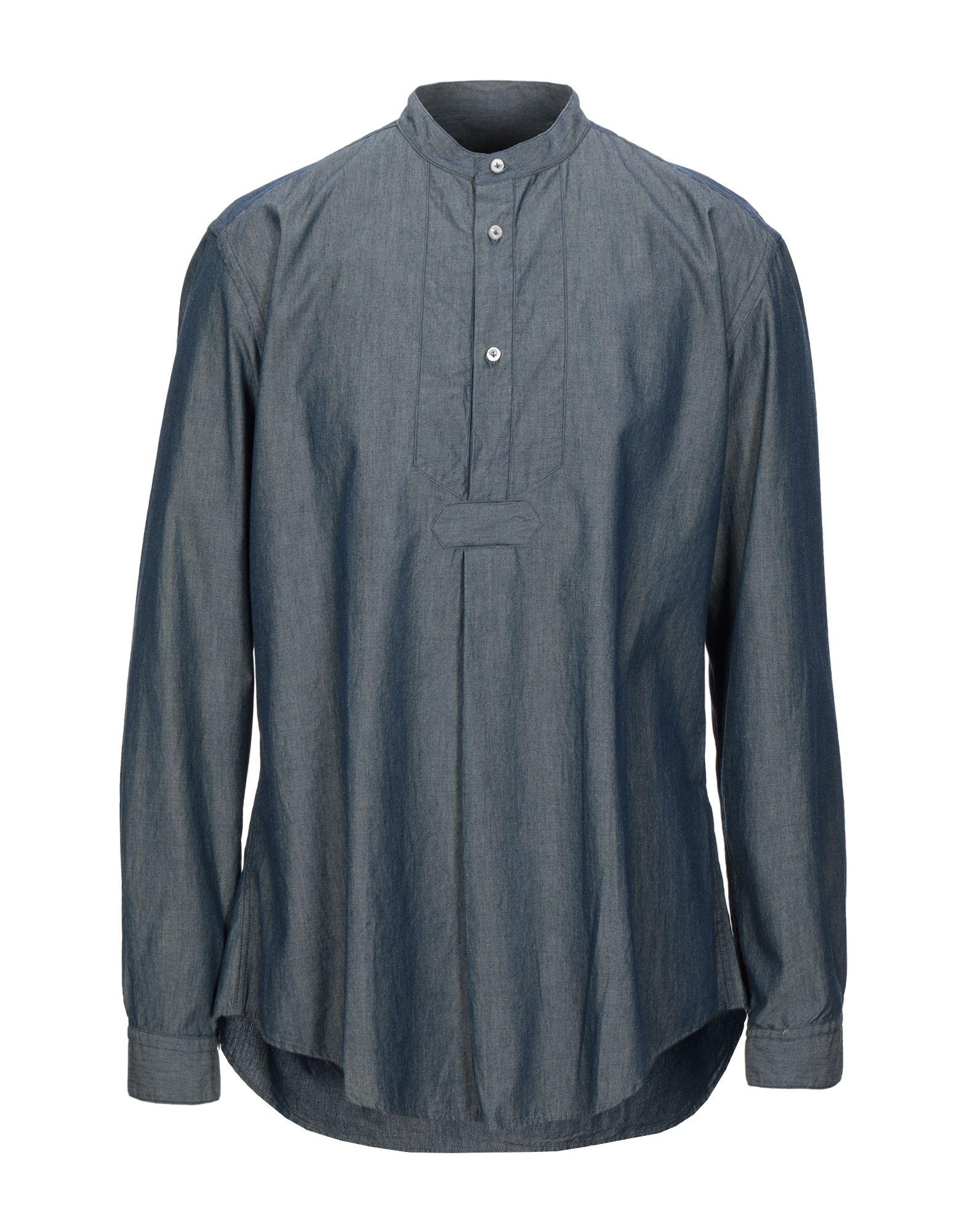 Фото - BRIAN DALES Джинсовая рубашка рубашка greg greg mp002xm05sgb