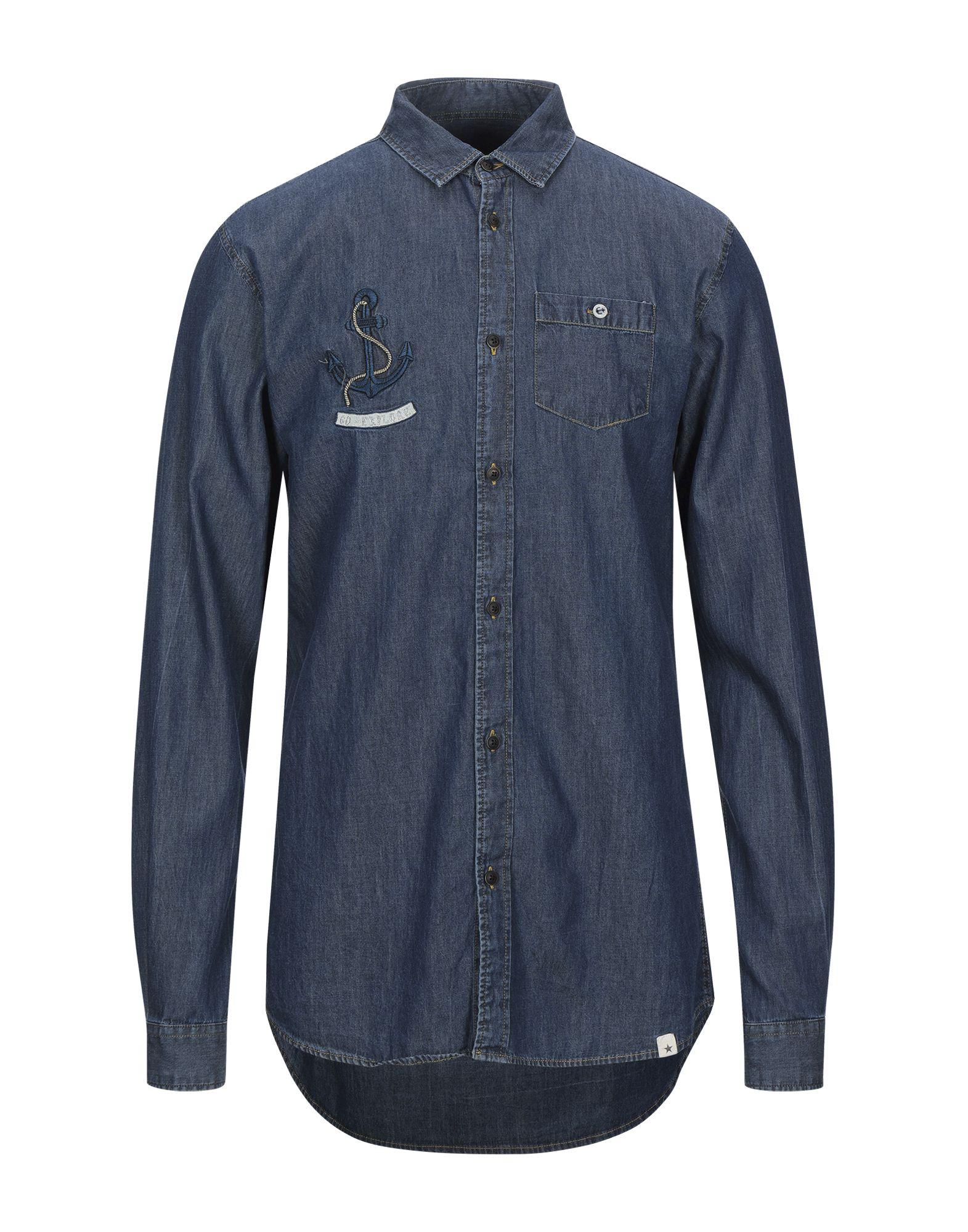 FIVER Джинсовая рубашка fiver футболка