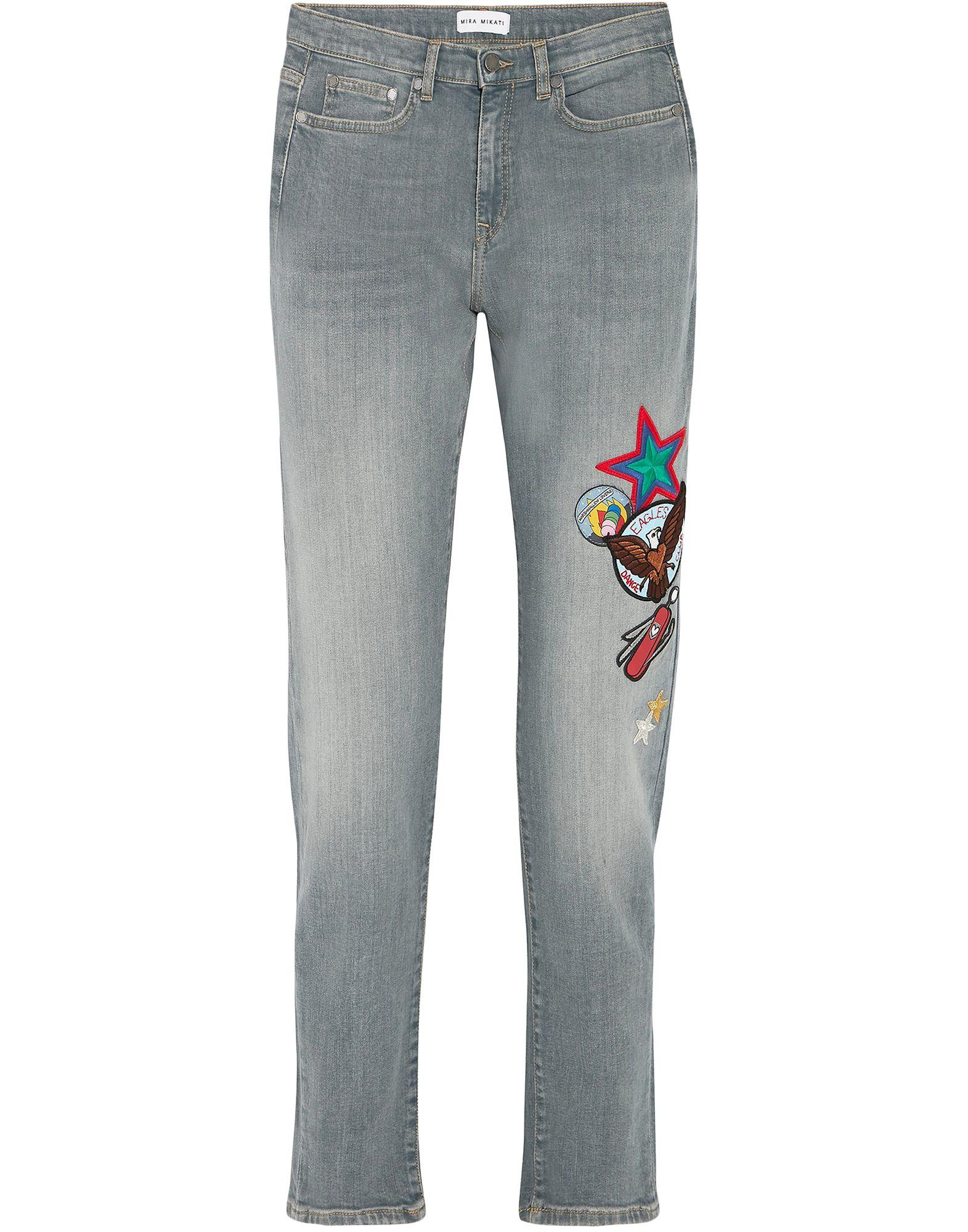 цена MIRA MIKATI Джинсовые брюки онлайн в 2017 году