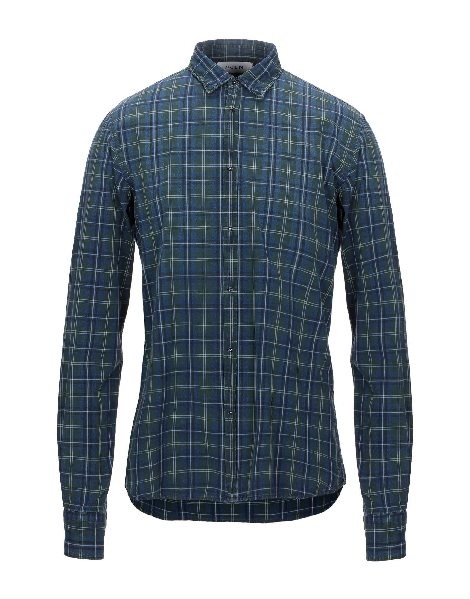 Фото - ASPESI Джинсовая рубашка рубашка greg greg mp002xm05sgb
