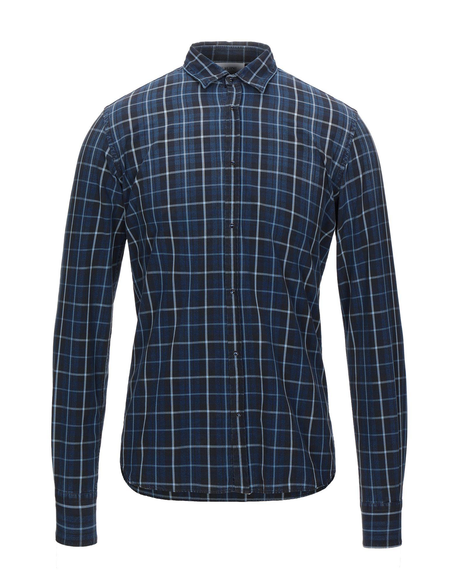 Фото - AGLINI Джинсовая рубашка рубашка greg greg mp002xm05sgb