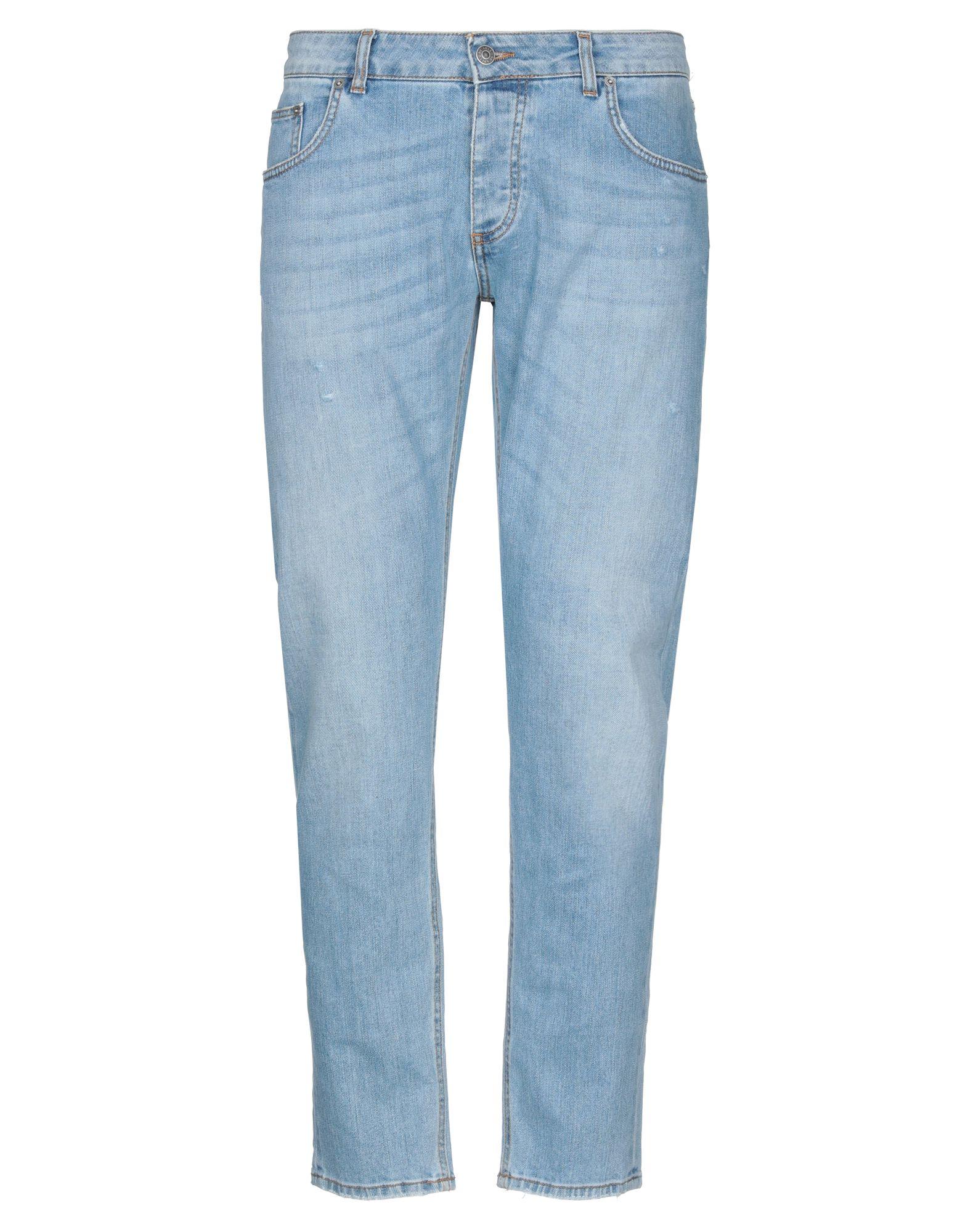 《セール開催中》BE ABLE メンズ ジーンズ ブルー 34 コットン 100%
