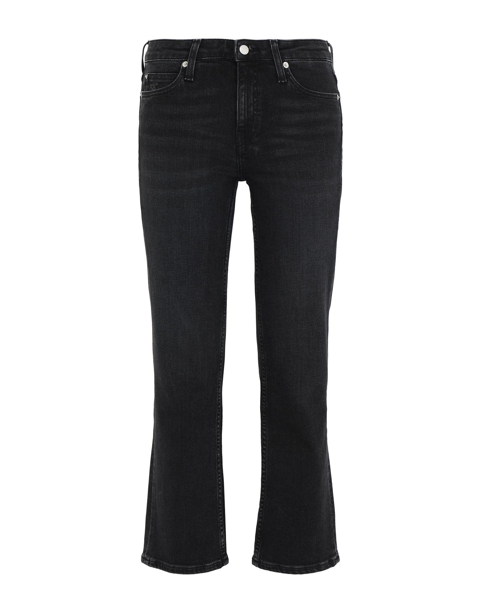 CALVIN KLEIN JEANS Джинсовые брюки-капри цена 2017