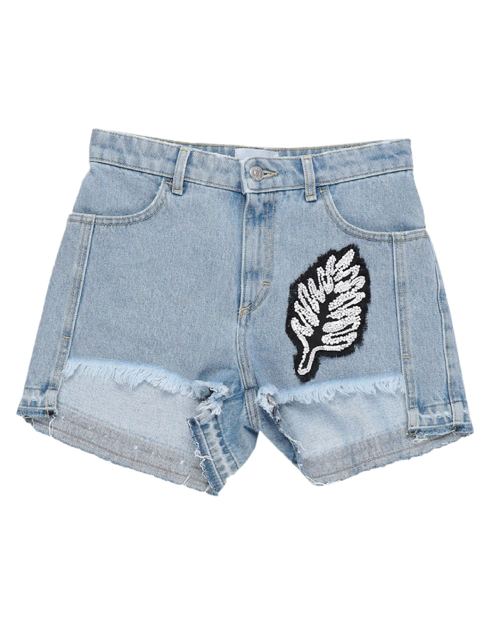 AU JOUR LE JOUR Джинсовые шорты au jour le jour джинсовые шорты