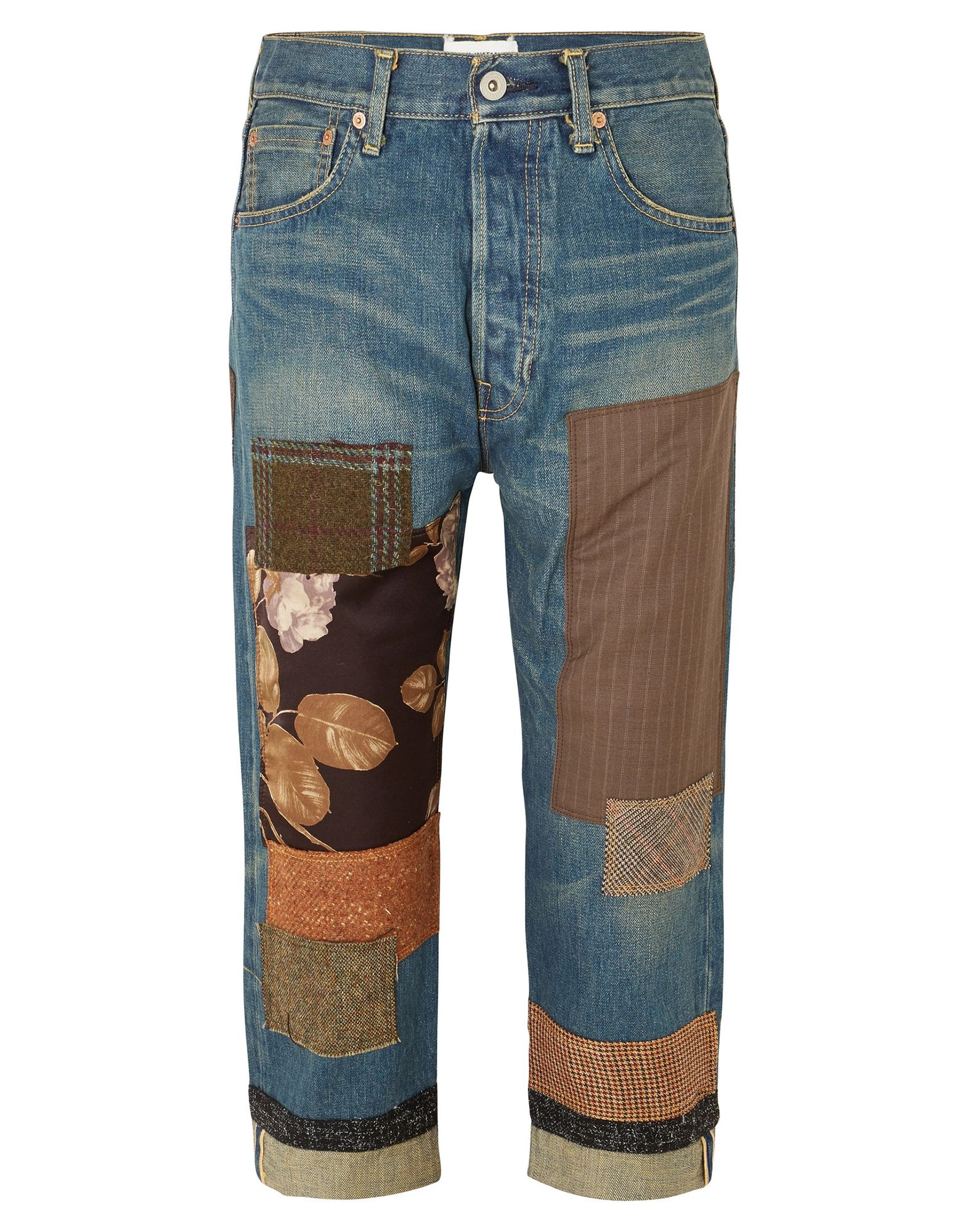 JUNYA WATANABE Джинсовые брюки пиджак junya watanabe
