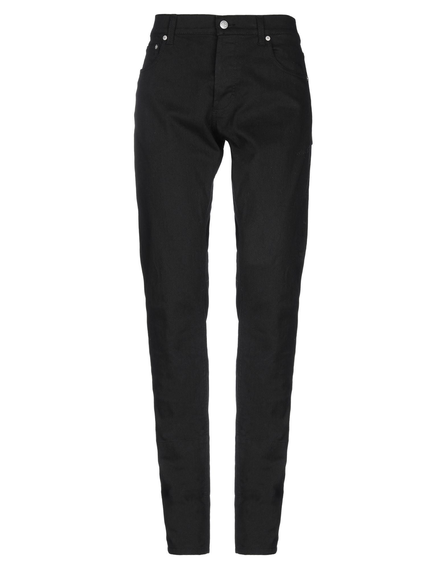 ALEXANDER MCQUEEN Denim pants - Item 42786737