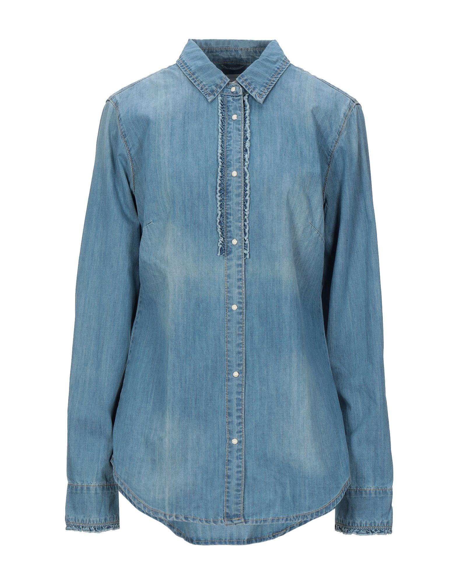 SILVIAN HEACH Джинсовая рубашка