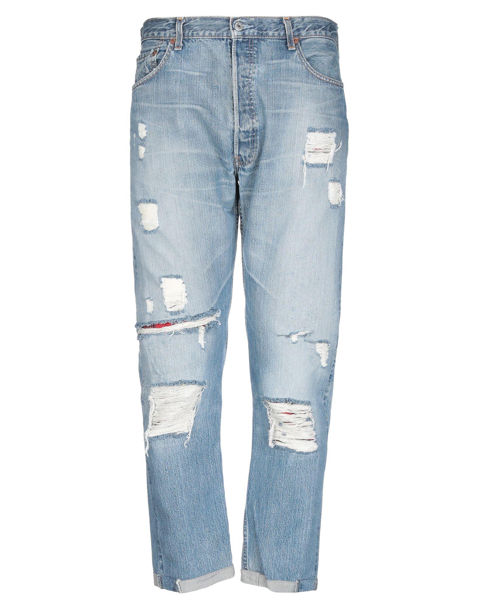 《セール開催中》RESTILE with LEVI'S メンズ ジーンズ ブルー 36W-36L コットン 100%