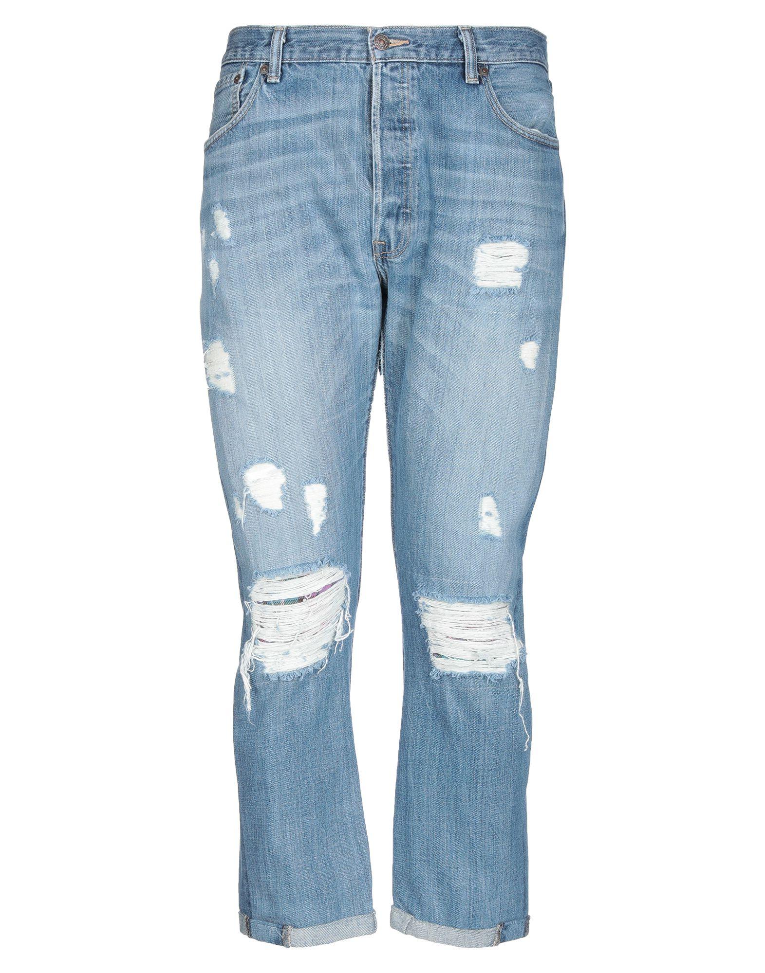 《セール開催中》RESTILE with LEVI'S メンズ ジーンズ ブルー 36W-34L コットン 100%