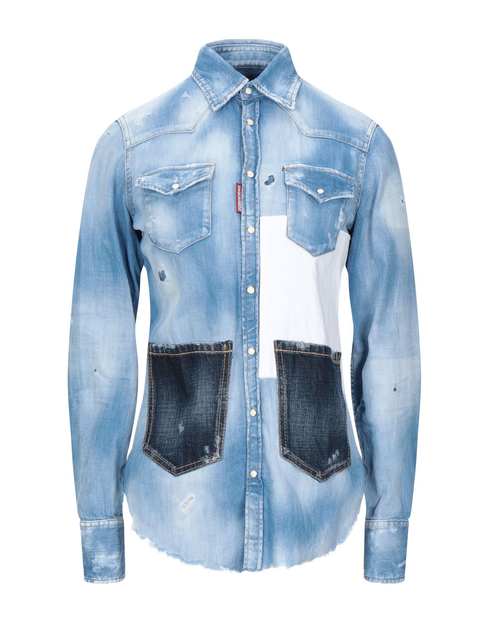 DSQUARED2 Джинсовая рубашка