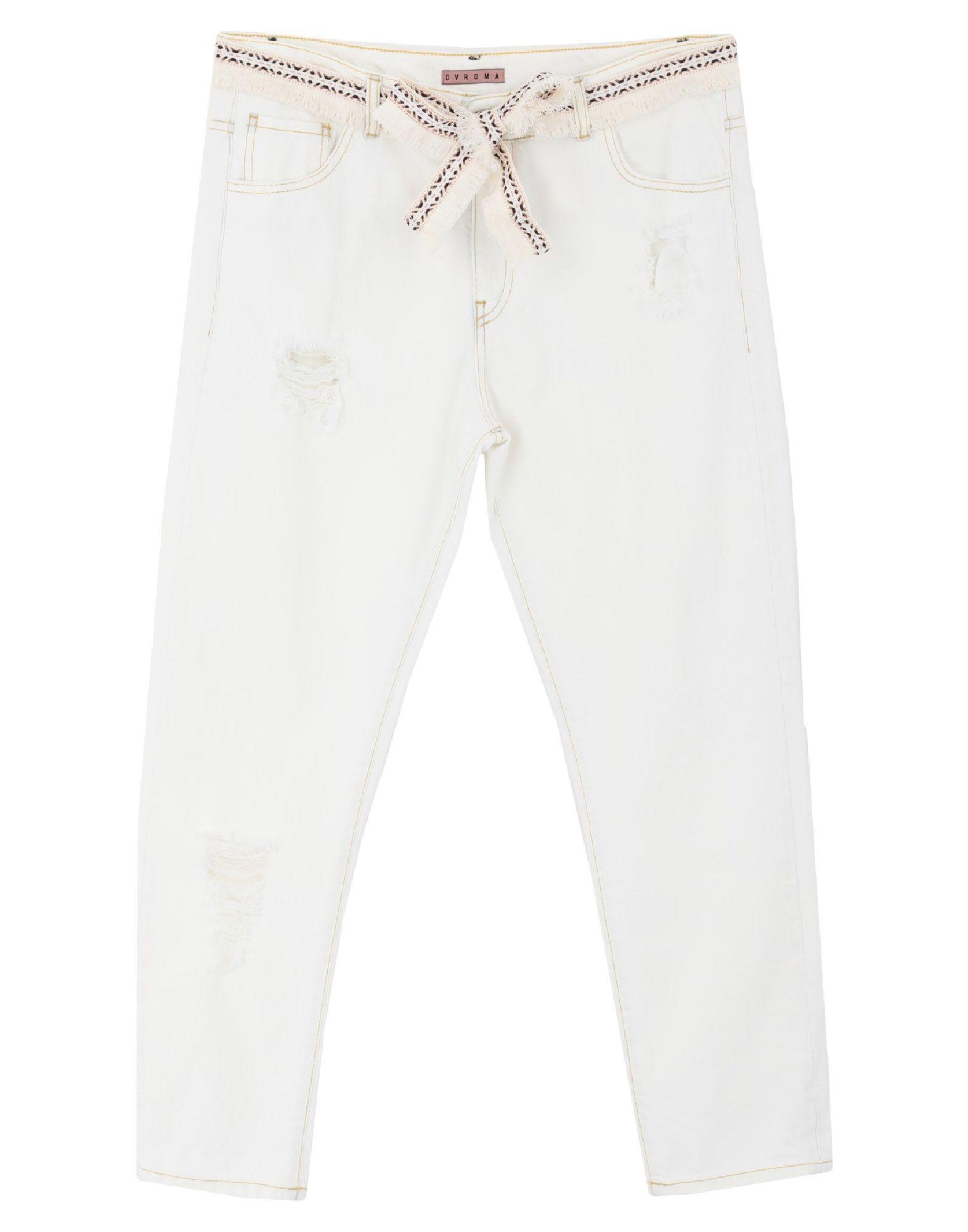 DV Roma Джинсовые брюки via stendhal roma джинсовые брюки