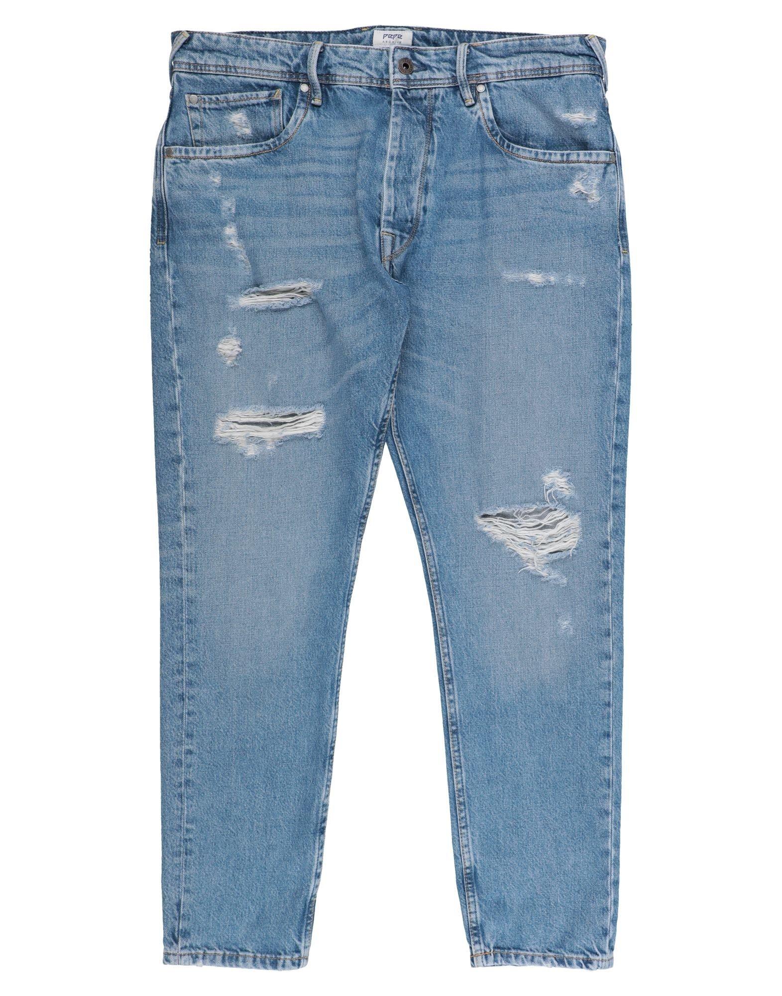 《セール開催中》PEPE JEANS メンズ ジーンズ ブルー 28 コットン 100%