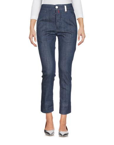 Фото 2 - Джинсовые брюки от HIGH by CLAIRE CAMPBELL синего цвета