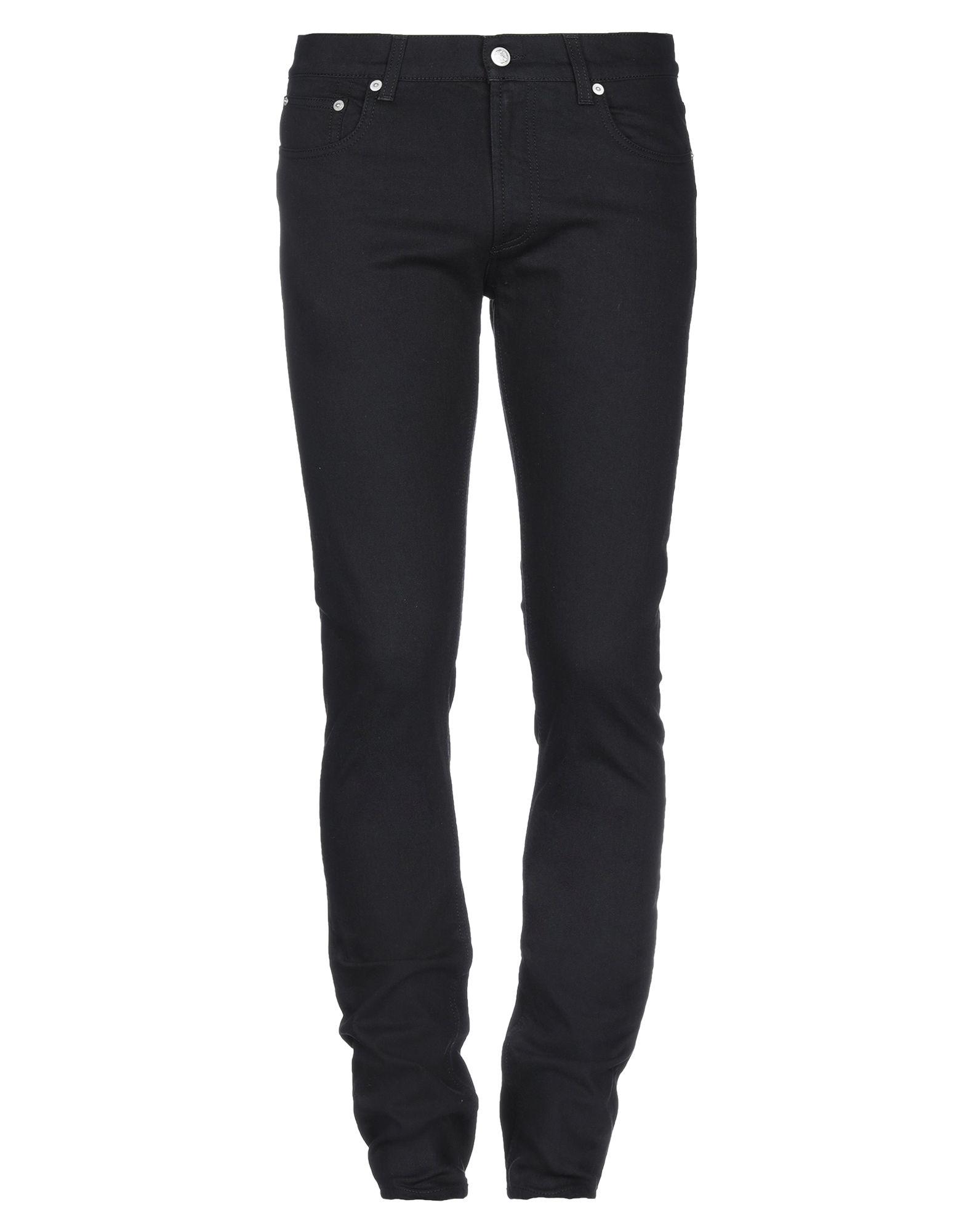 ALEXANDER MCQUEEN Denim pants - Item 42788970