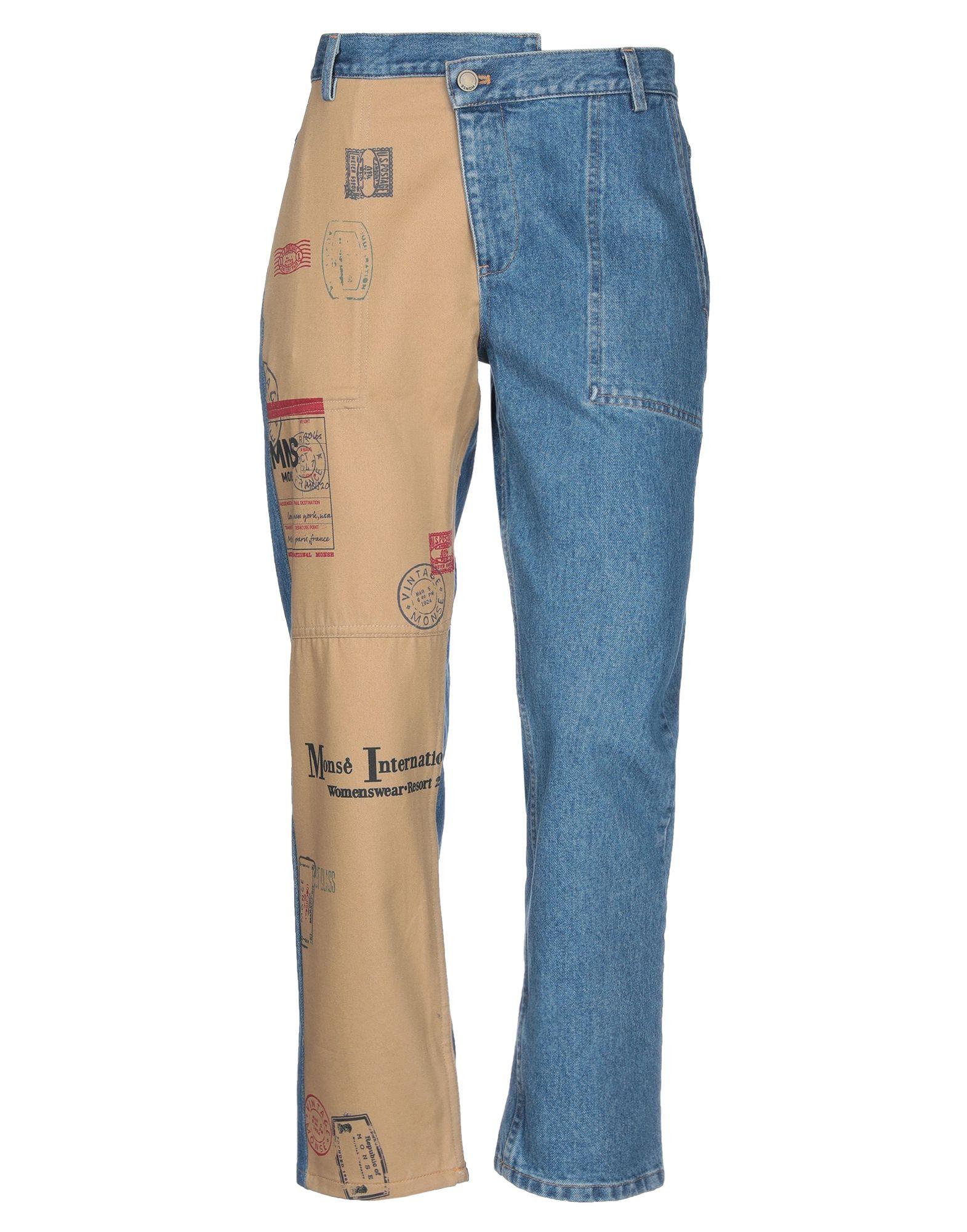 Фото - MONSE Джинсовые брюки monse повседневные брюки