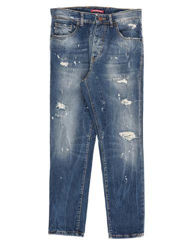 Фото - Джинсовые брюки от LABELROUTE синего цвета