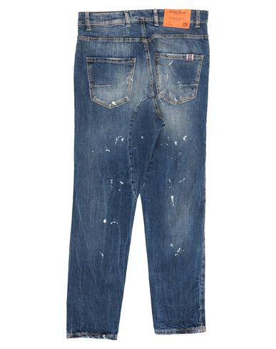 Фото 2 - Джинсовые брюки от LABELROUTE синего цвета