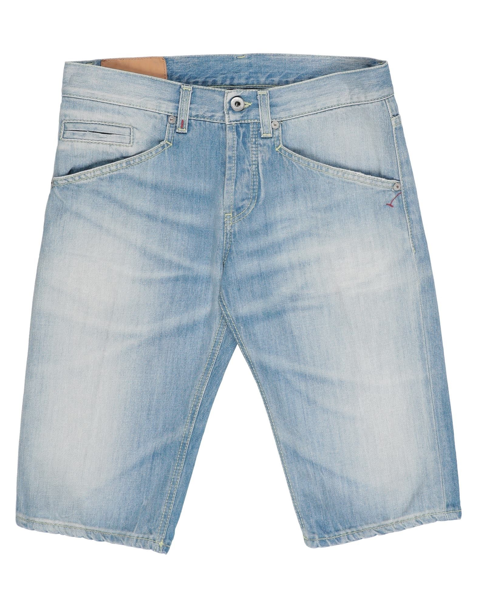 《セール開催中》DONDUP メンズ デニムバミューダパンツ ブルー 30 コットン 100%