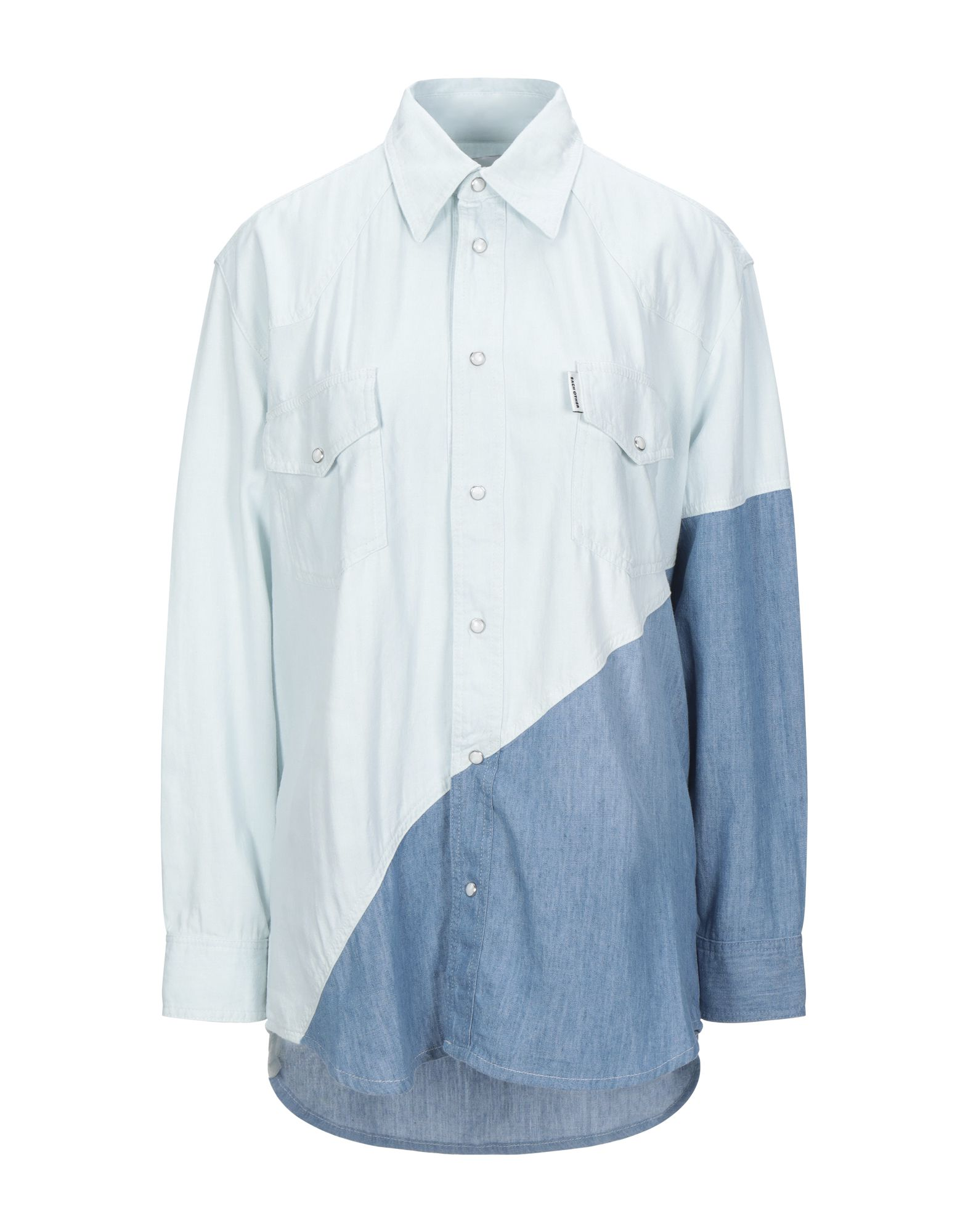 цена на EACH X OTHER Джинсовая рубашка