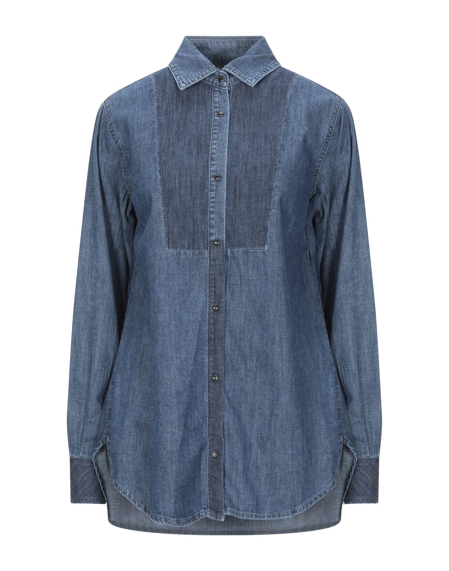 Фото - P_JEAN Джинсовая рубашка рубашка greg greg mp002xm05sgb