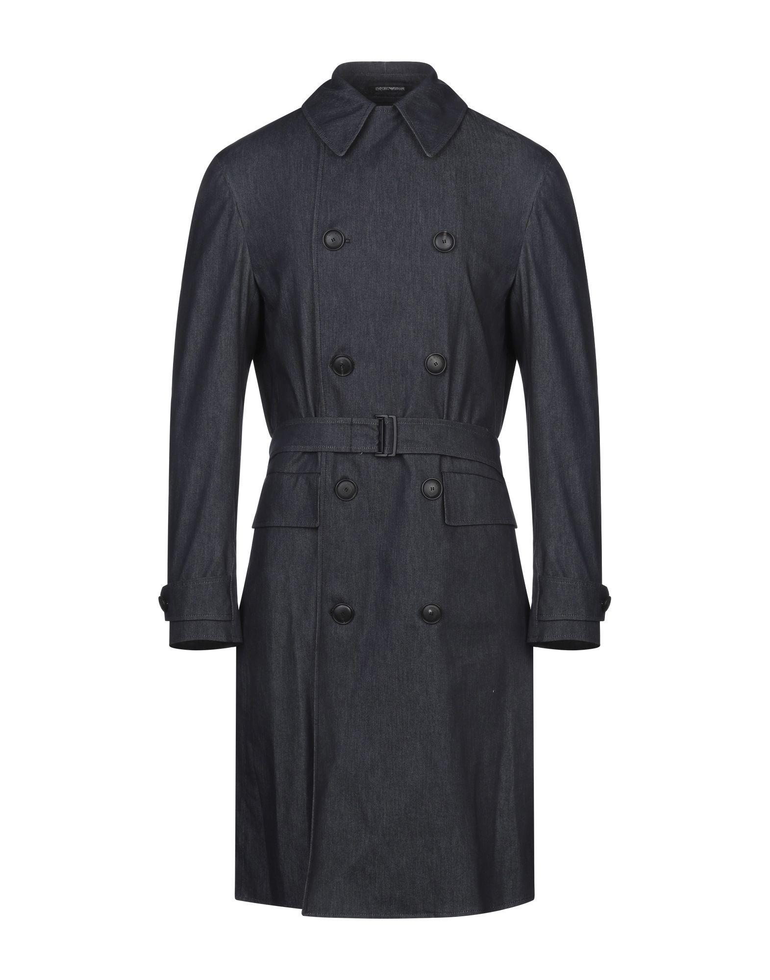 цена EMPORIO ARMANI Джинсовая верхняя одежда онлайн в 2017 году