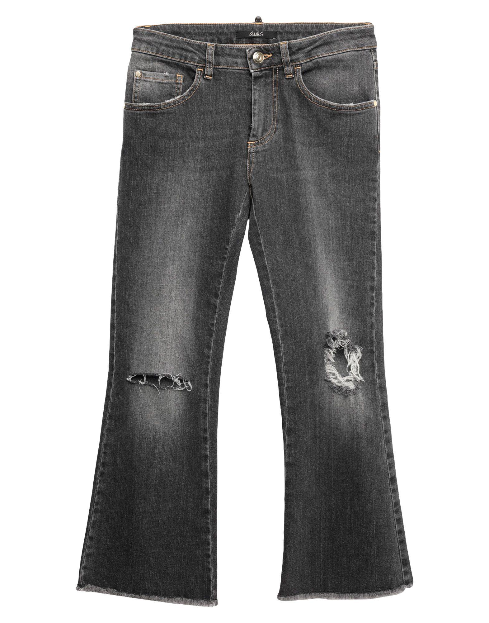 CARLA G. Джинсовые брюки-капри цена 2017