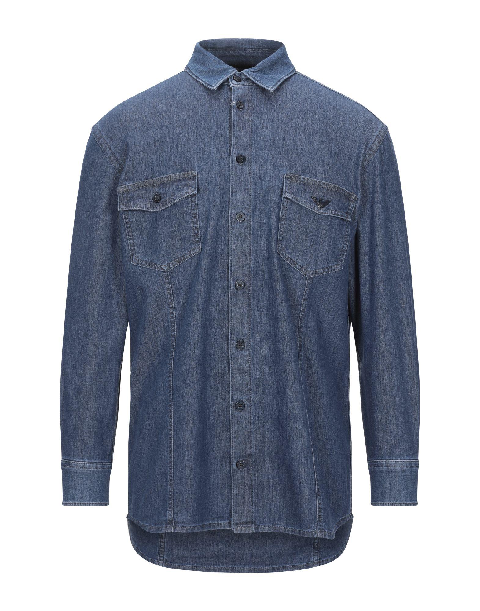 EMPORIO ARMANI Джинсовая рубашка куртка джинсовая emporio armani emporio armani em598ewzwc83 page 2