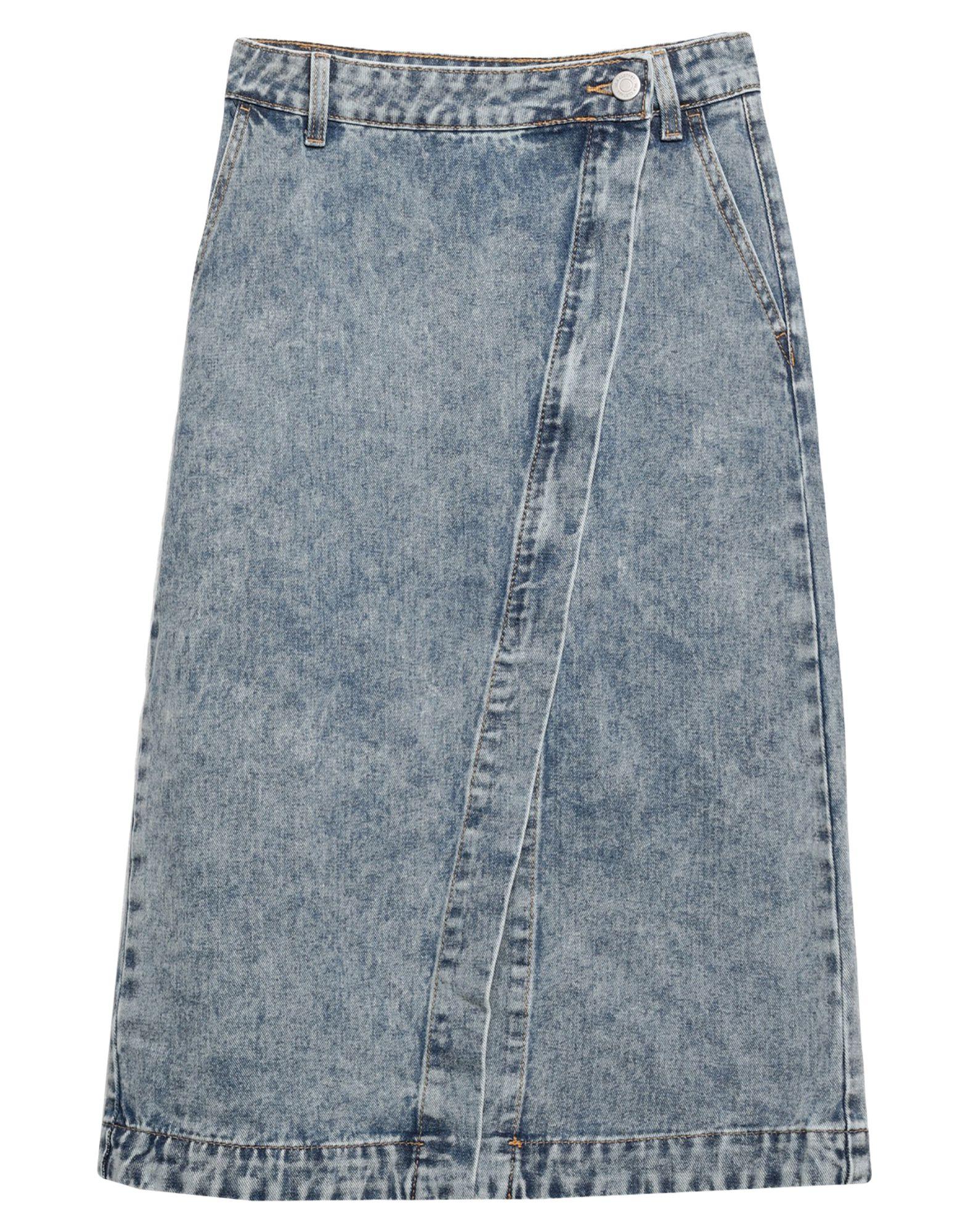цена VILA Джинсовая юбка онлайн в 2017 году