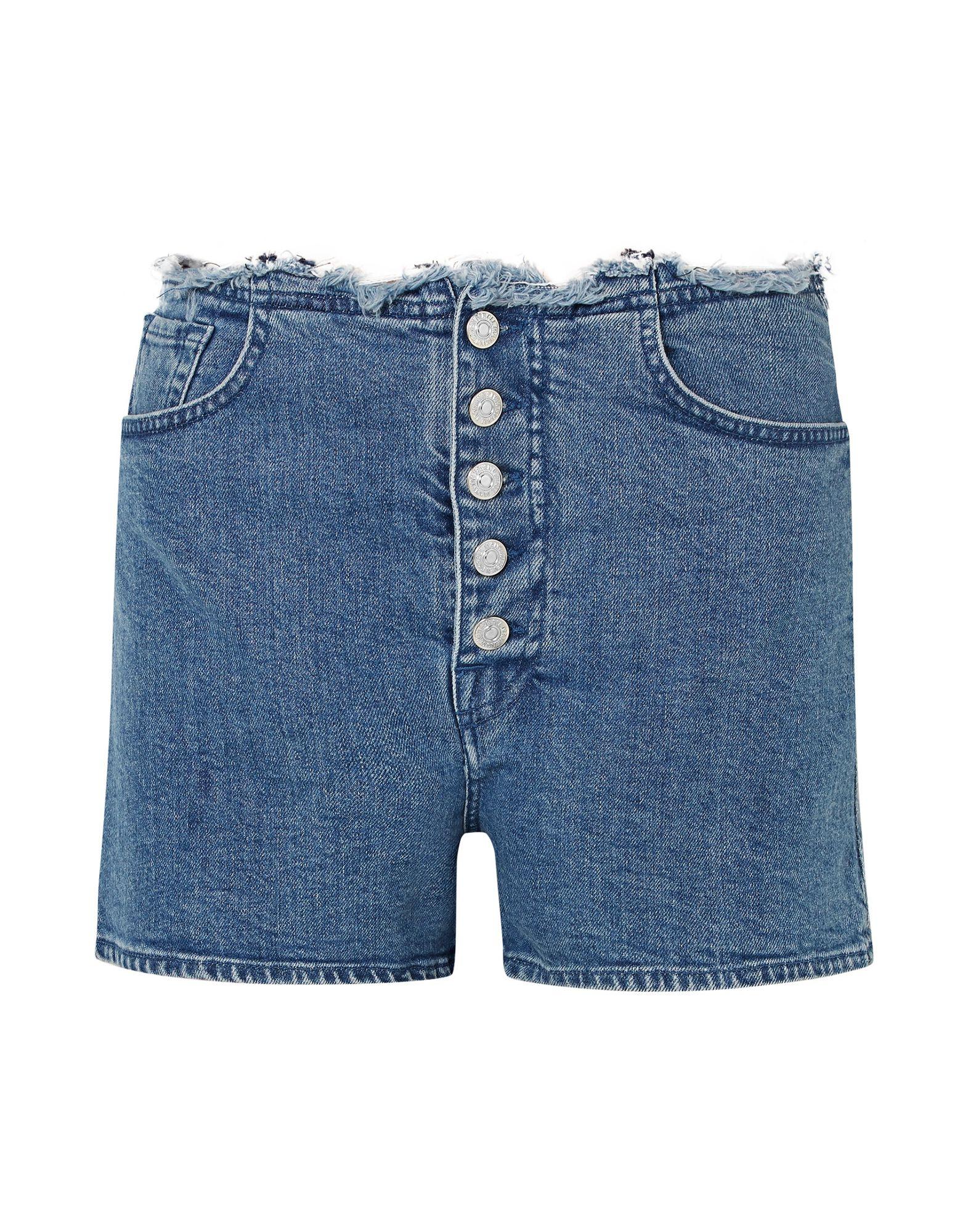 MARQUES' ALMEIDA x 7 FOR ALL MANKIND Джинсовые шорты marques almeida x yoox толстовка