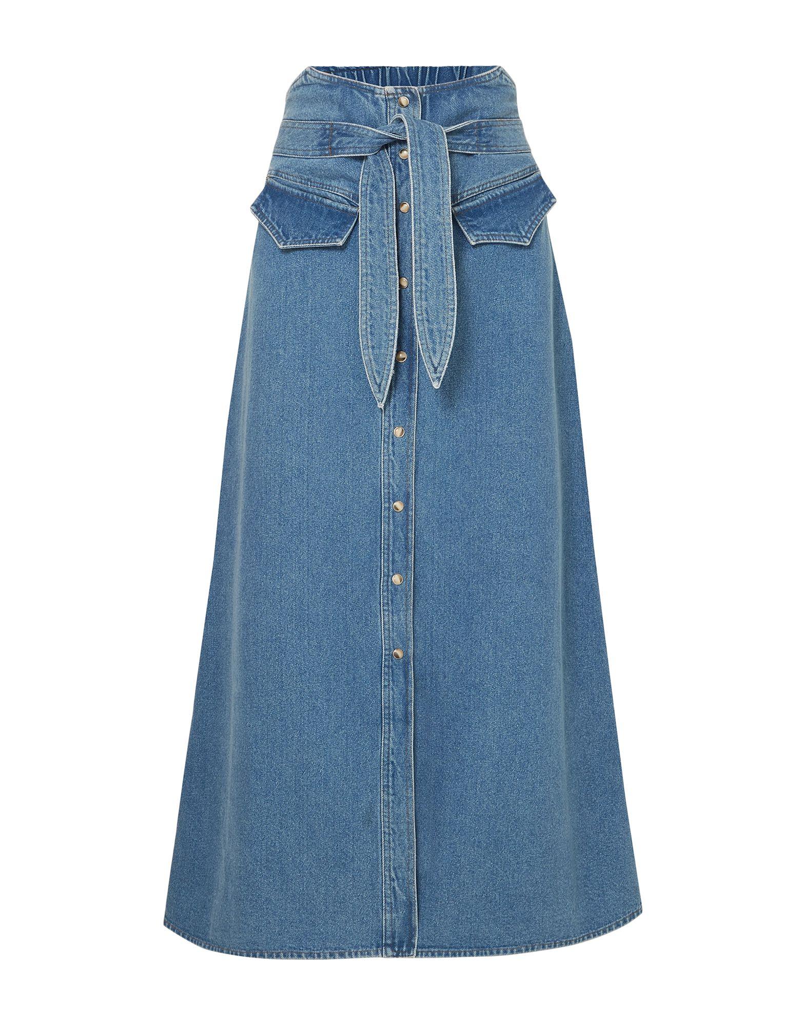 NANUSHKA Джинсовая юбка