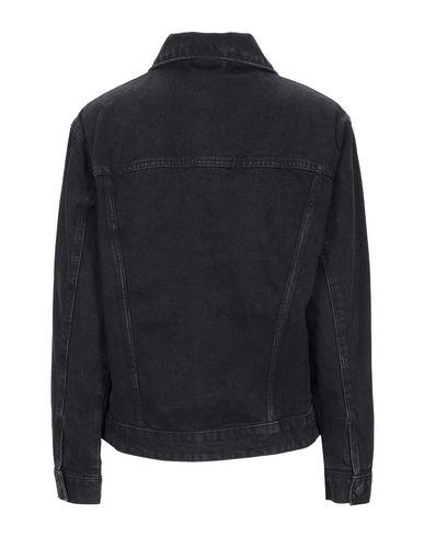 Фото 2 - Джинсовая верхняя одежда черного цвета
