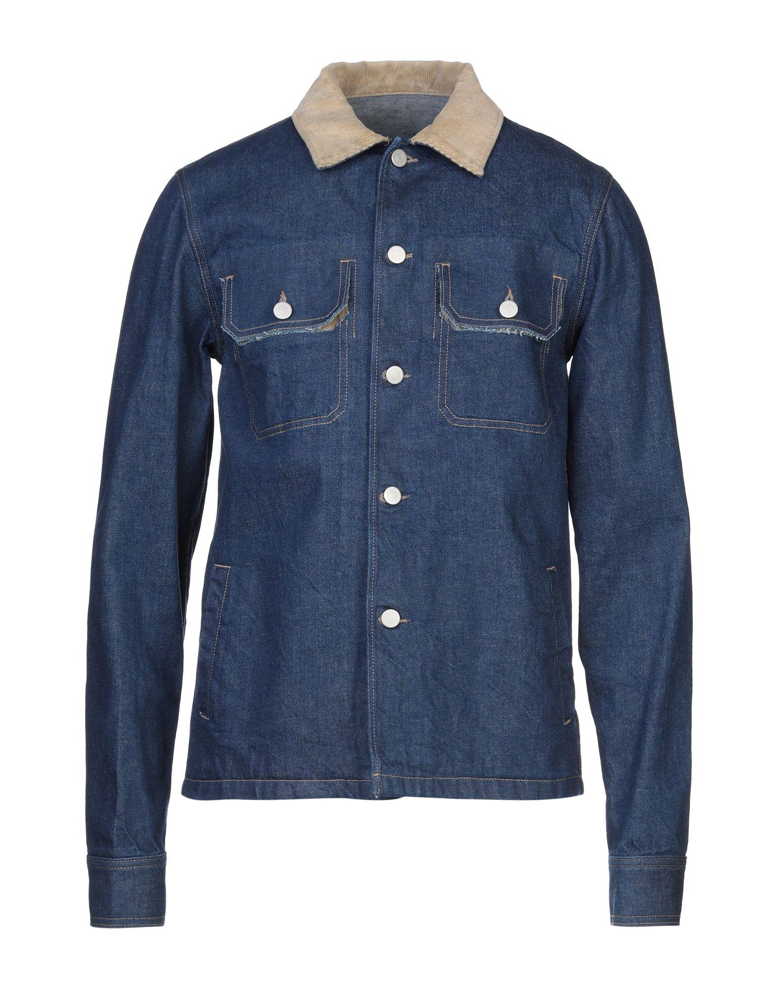 MAISON MARGIELA Джинсовая верхняя одежда maison g o c o джинсовая верхняя одежда