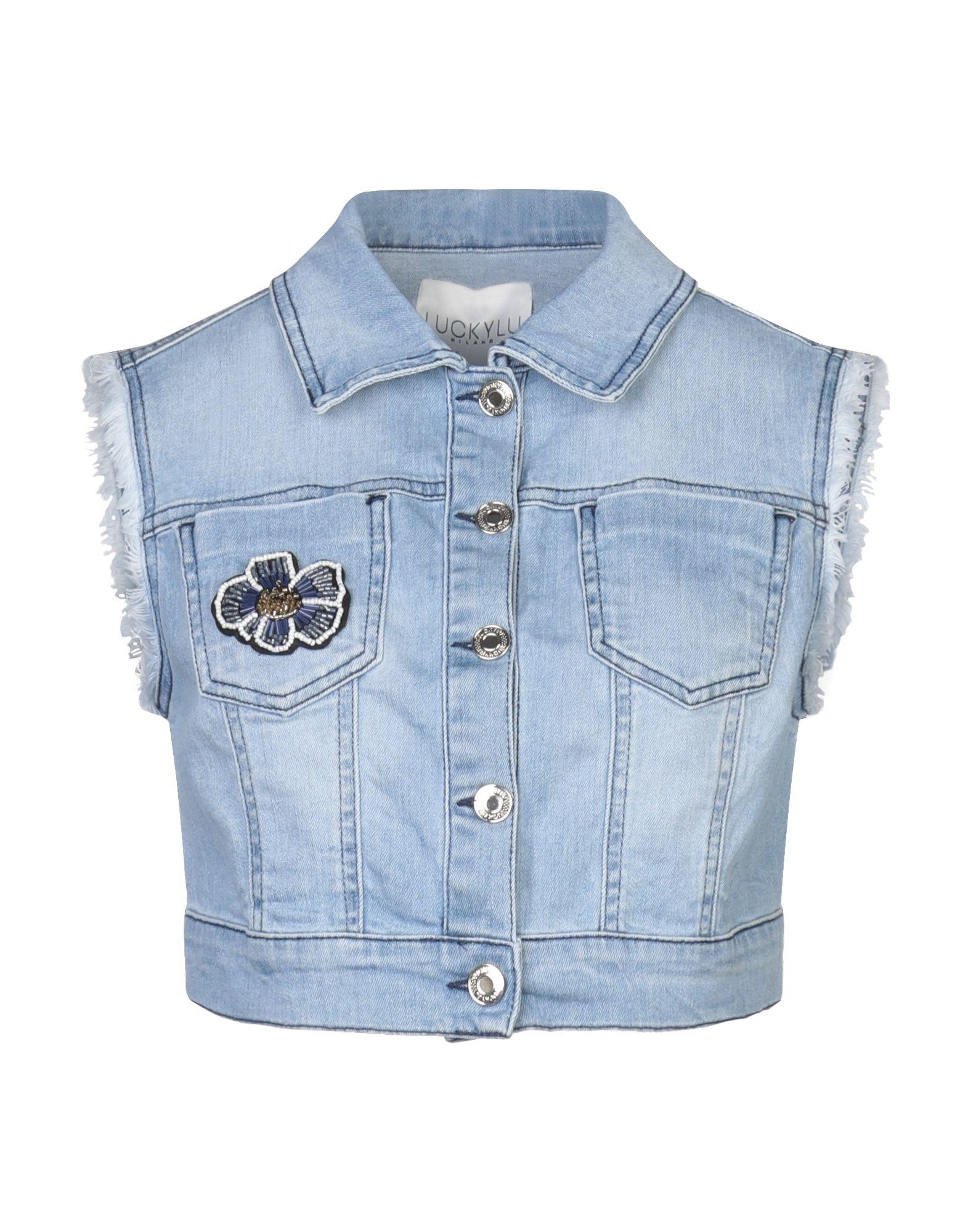 LUCKYLU Milano Джинсовая верхняя одежда family first milano джинсовая верхняя одежда