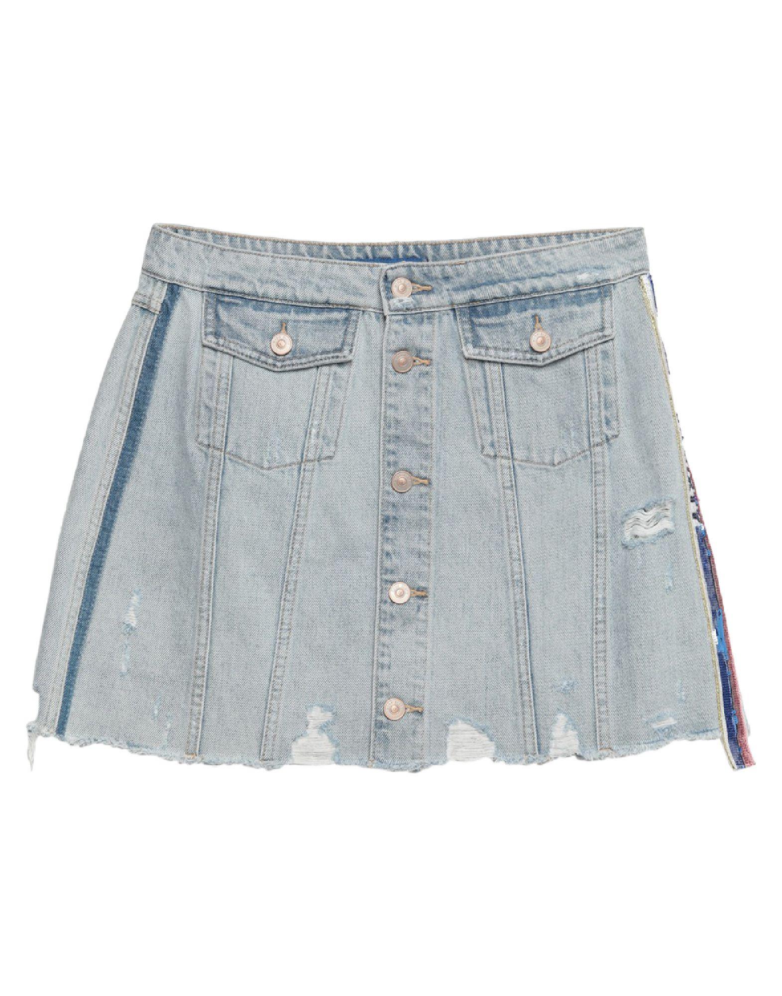 MISS SIXTY Джинсовая юбка ремень miss sixty