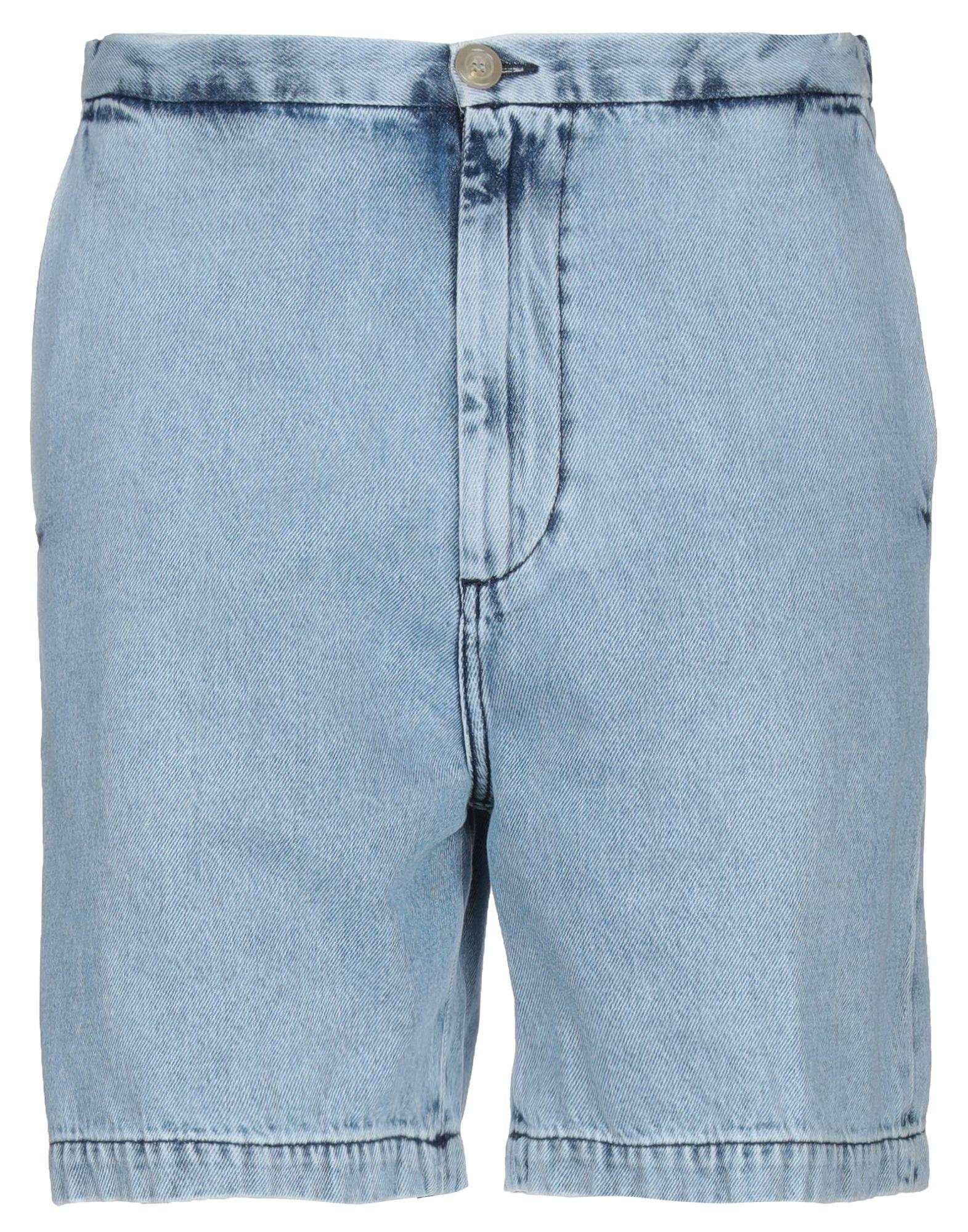 《セール開催中》COVERT メンズ デニムバミューダパンツ ブルー M コットン 100%