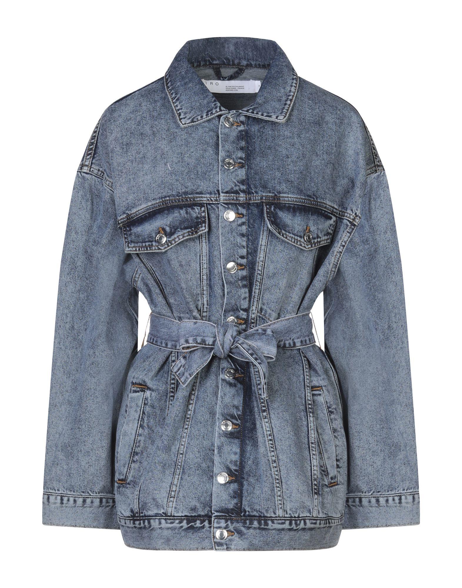 IRO Джинсовая верхняя одежда yeezy джинсовая верхняя одежда