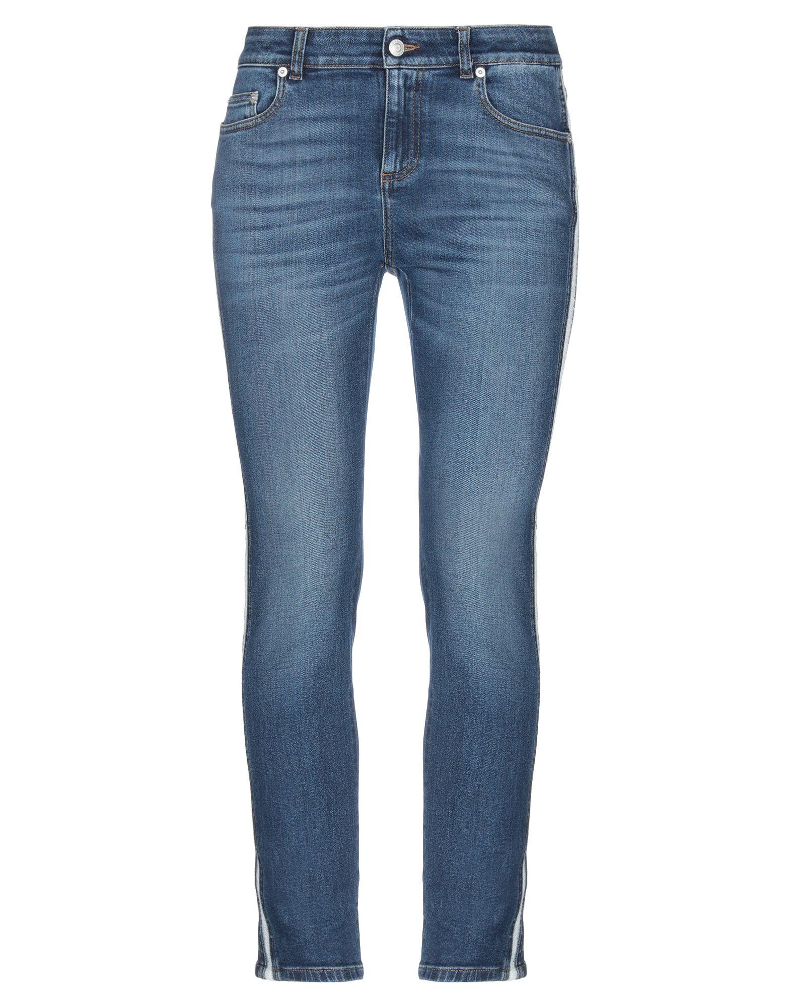 ALEXANDER MCQUEEN Denim pants - Item 42796658