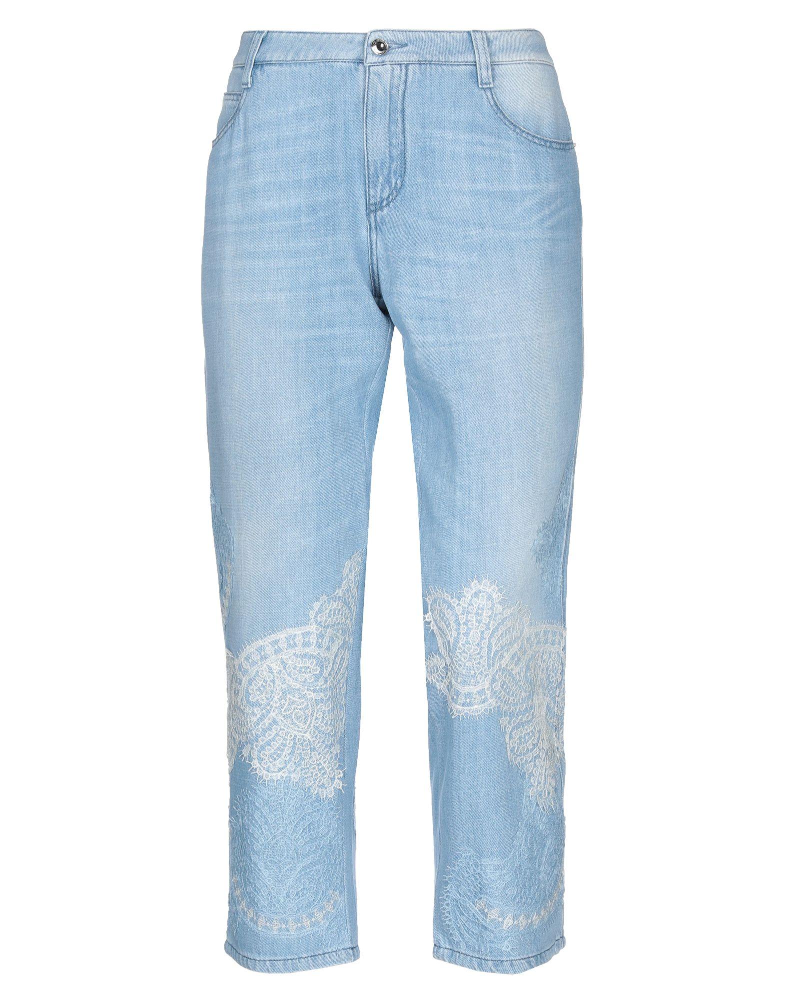 ERMANNO SCERVINO Джинсовые брюки