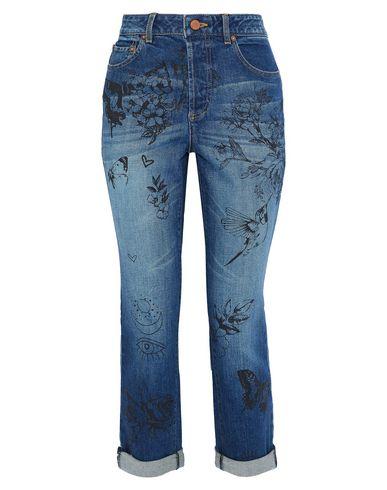 Джинсовые брюки ALICE + OLIVIA