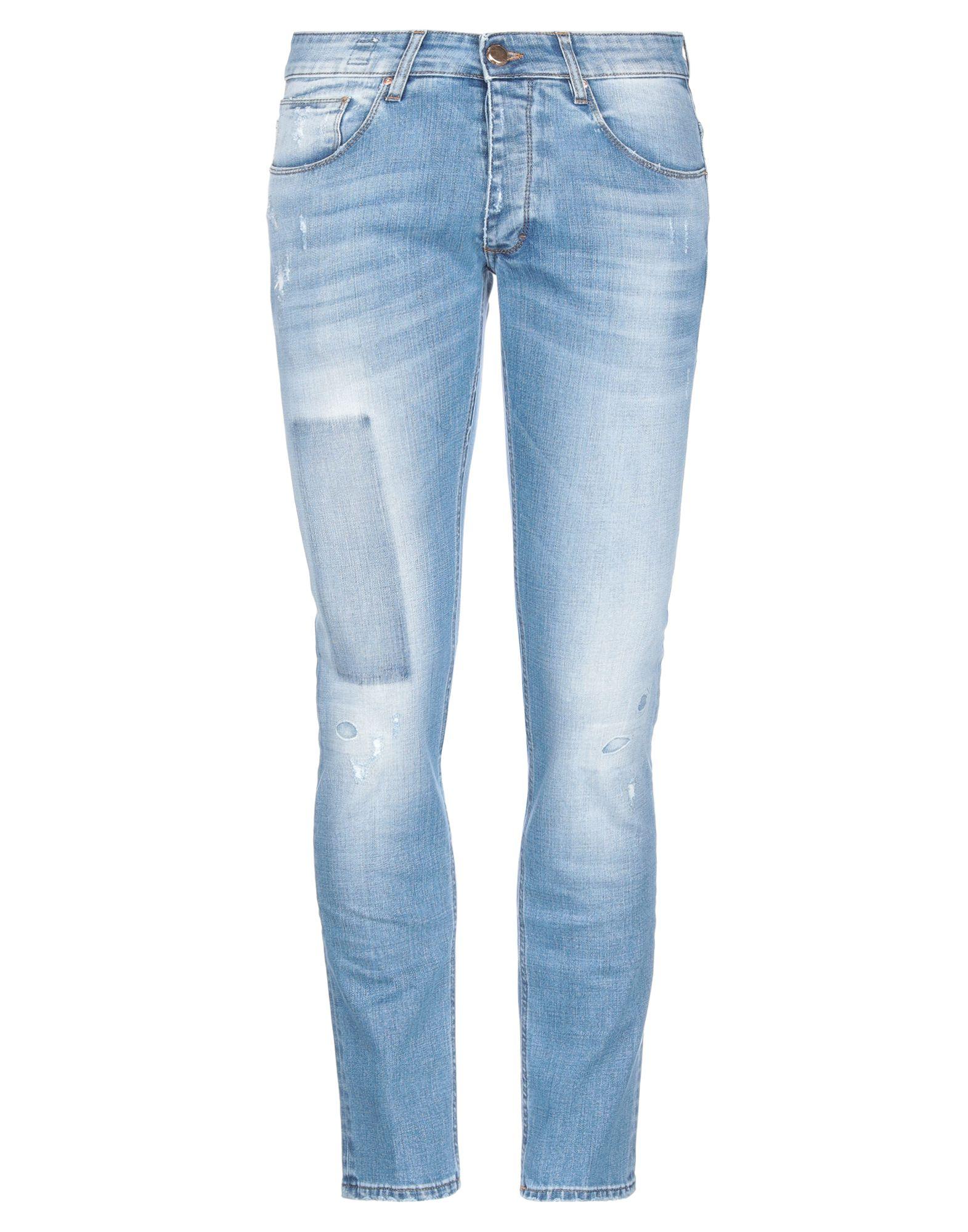 《セール開催中》DON THE FULLER メンズ ジーンズ ブルー 32 コットン 95% / ポリエステル 4% / ポリウレタン 1%