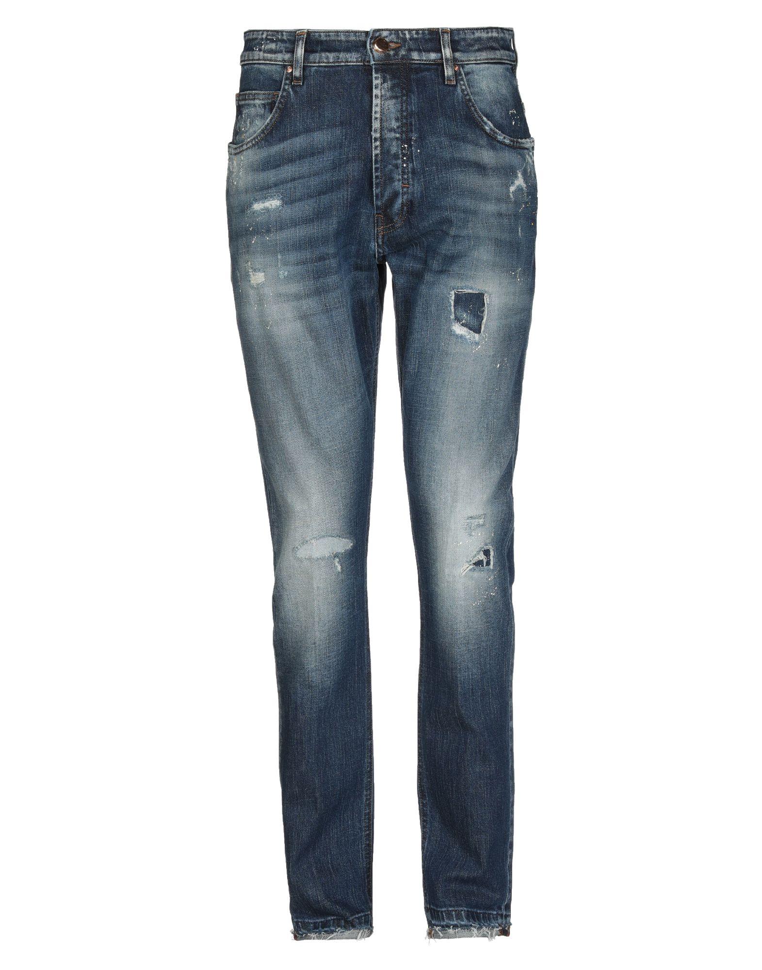 《セール開催中》DON THE FULLER メンズ ジーンズ ブルー 32 コットン 98% / ポリウレタン 2%
