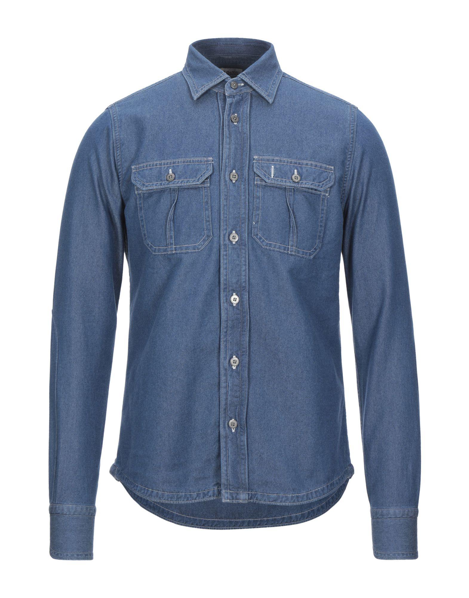 GLANSHIRT Джинсовая рубашка life sux джинсовая рубашка