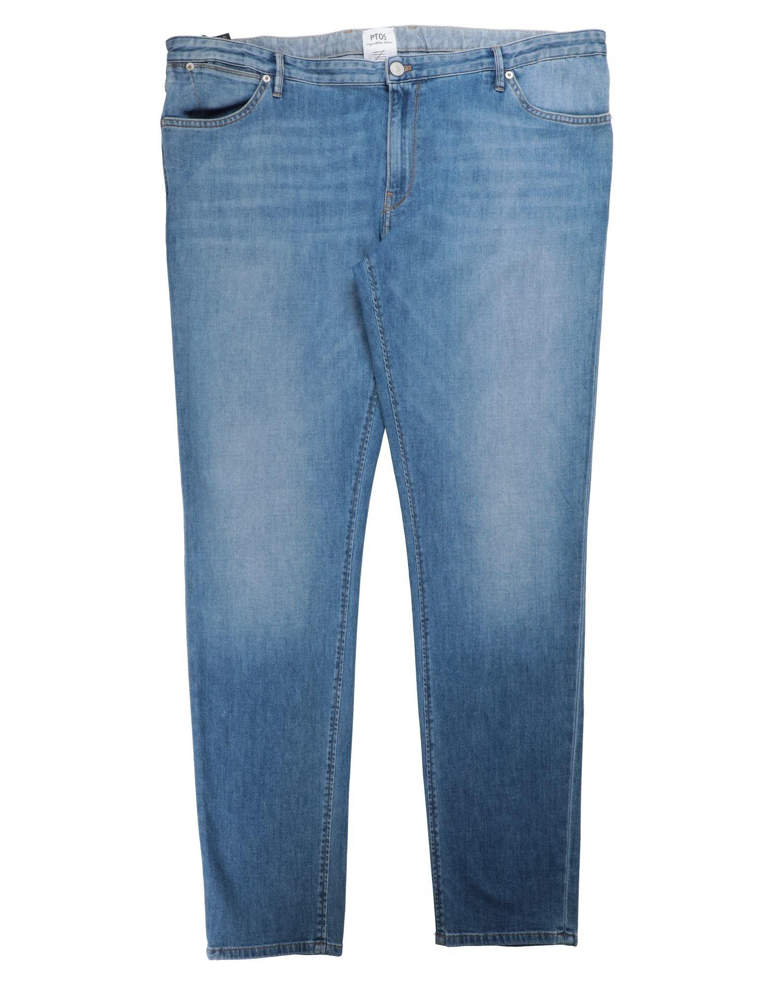 《セール開催中》PT05 メンズ ジーンズ ブルー 44 コットン 92% / エメリー 6% / ポリウレタン 2%