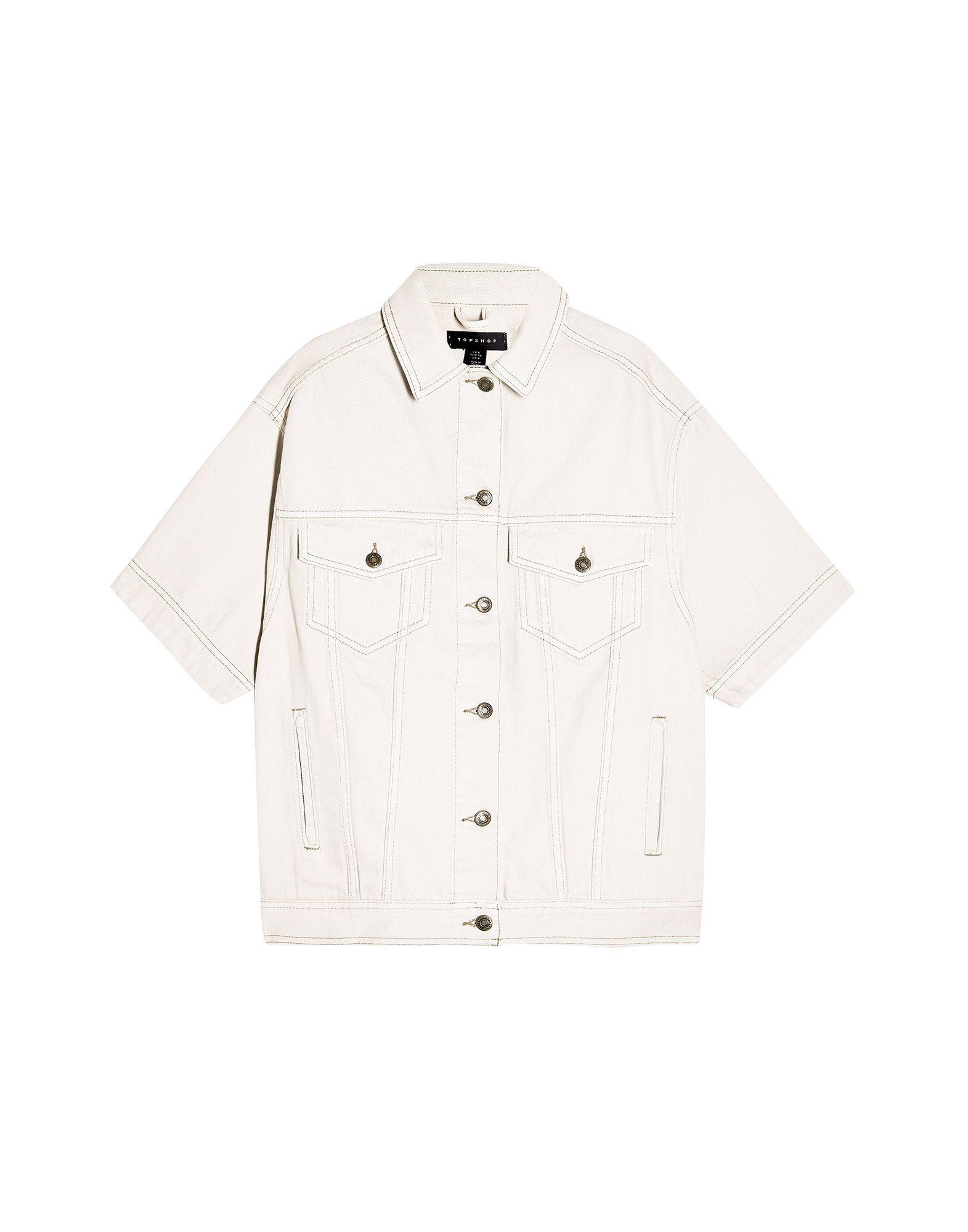 TOPSHOP Джинсовая верхняя одежда