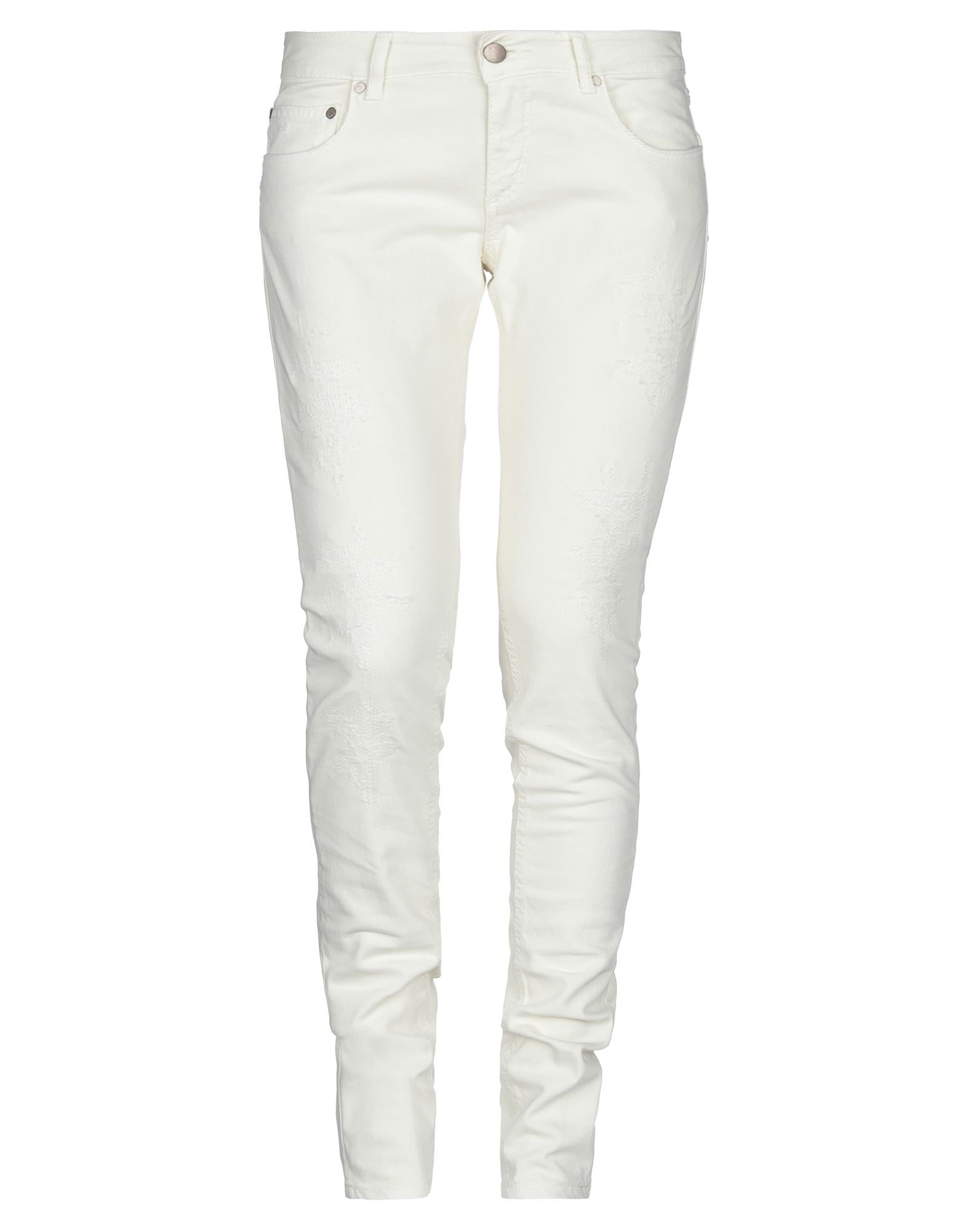 DONDUP Jeans. model: lambda, denim, logo, solid color, colored wash, low waisted, button, zip, multipockets, stretch. 97% Cotton, 3% Elastane