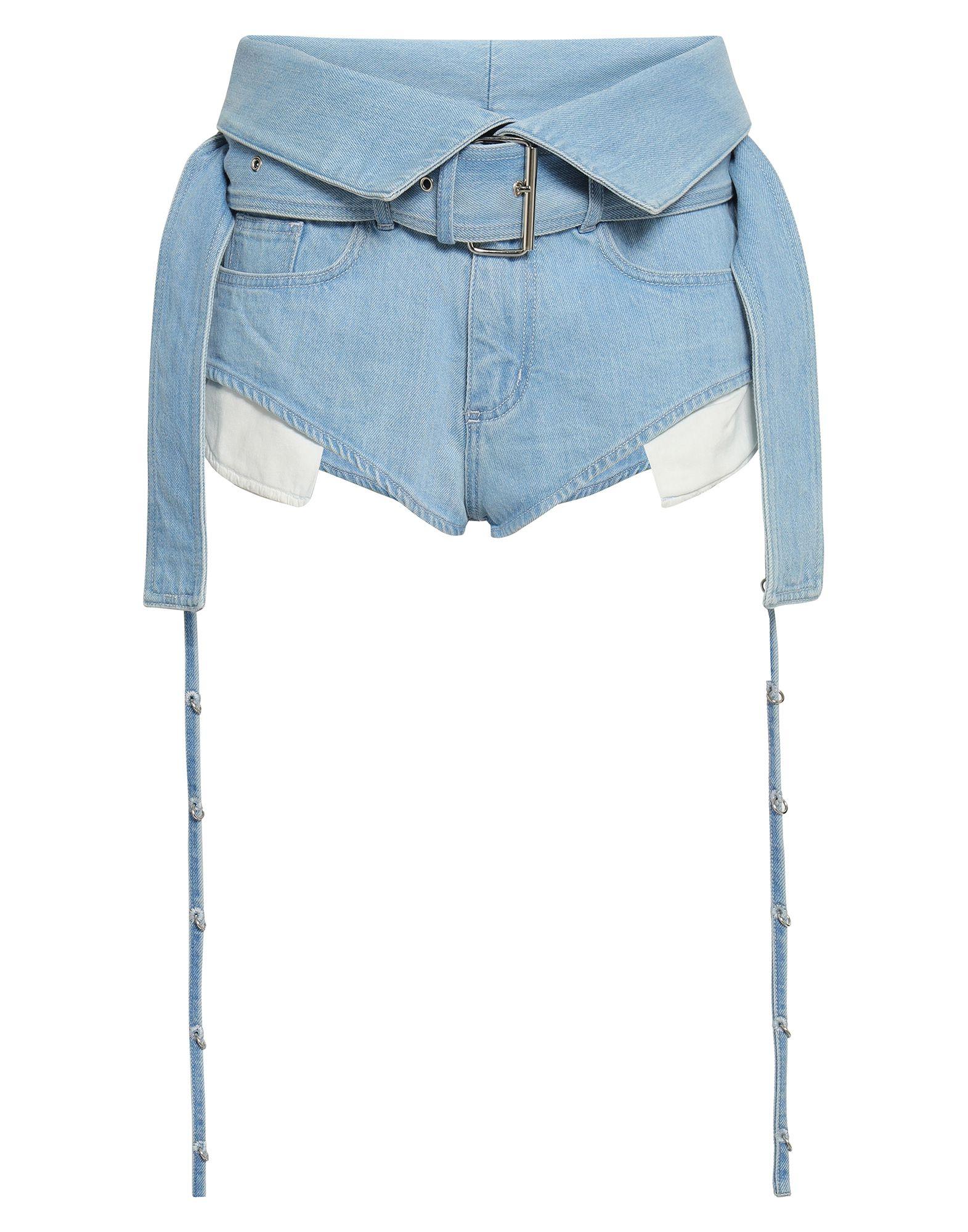 MARQUES' ALMEIDA Джинсовые шорты marques almeida джинсовые шорты