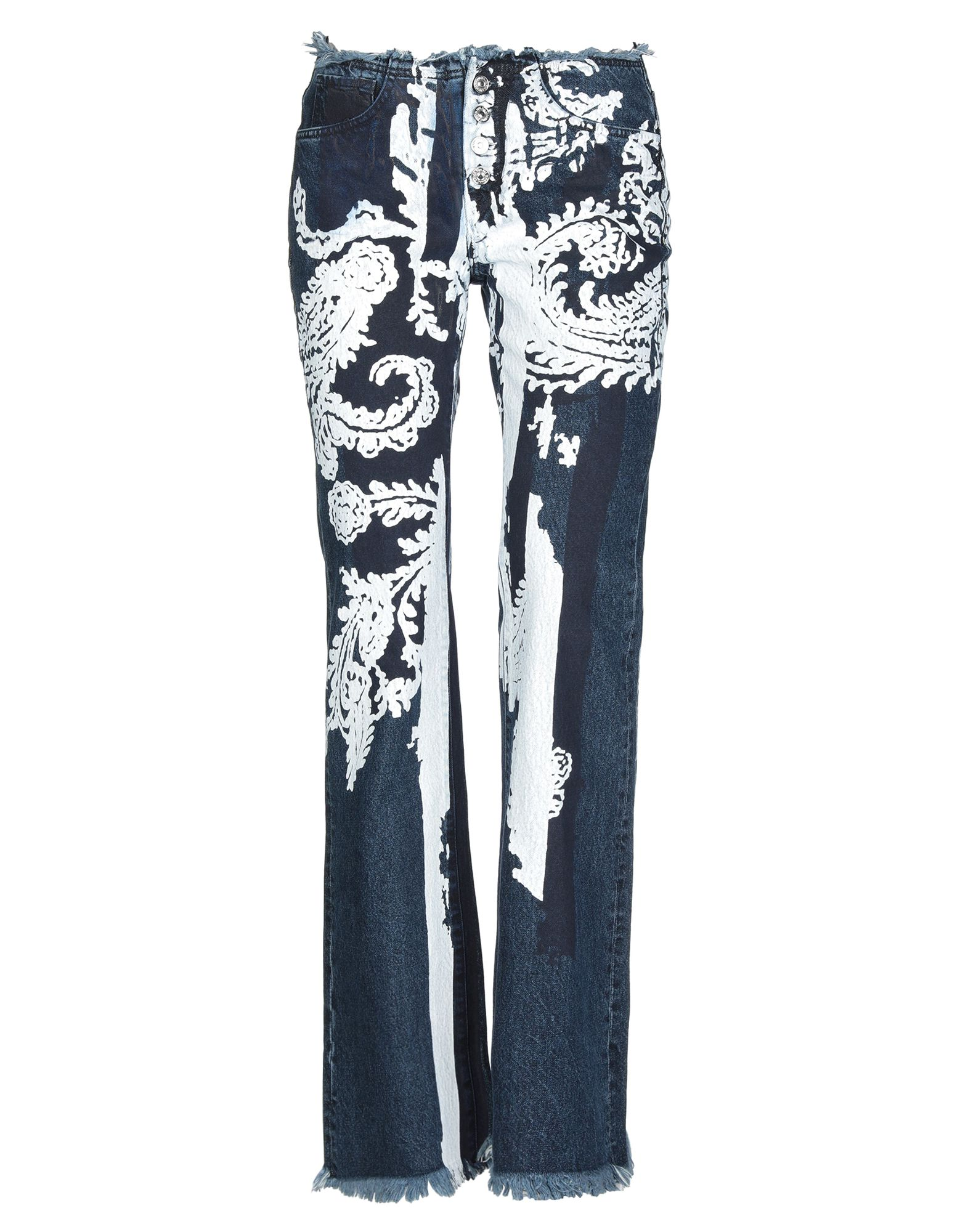 MARQUES' ALMEIDA x 7 FOR ALL MANKIND Джинсовые брюки marques almeida джинсовые шорты